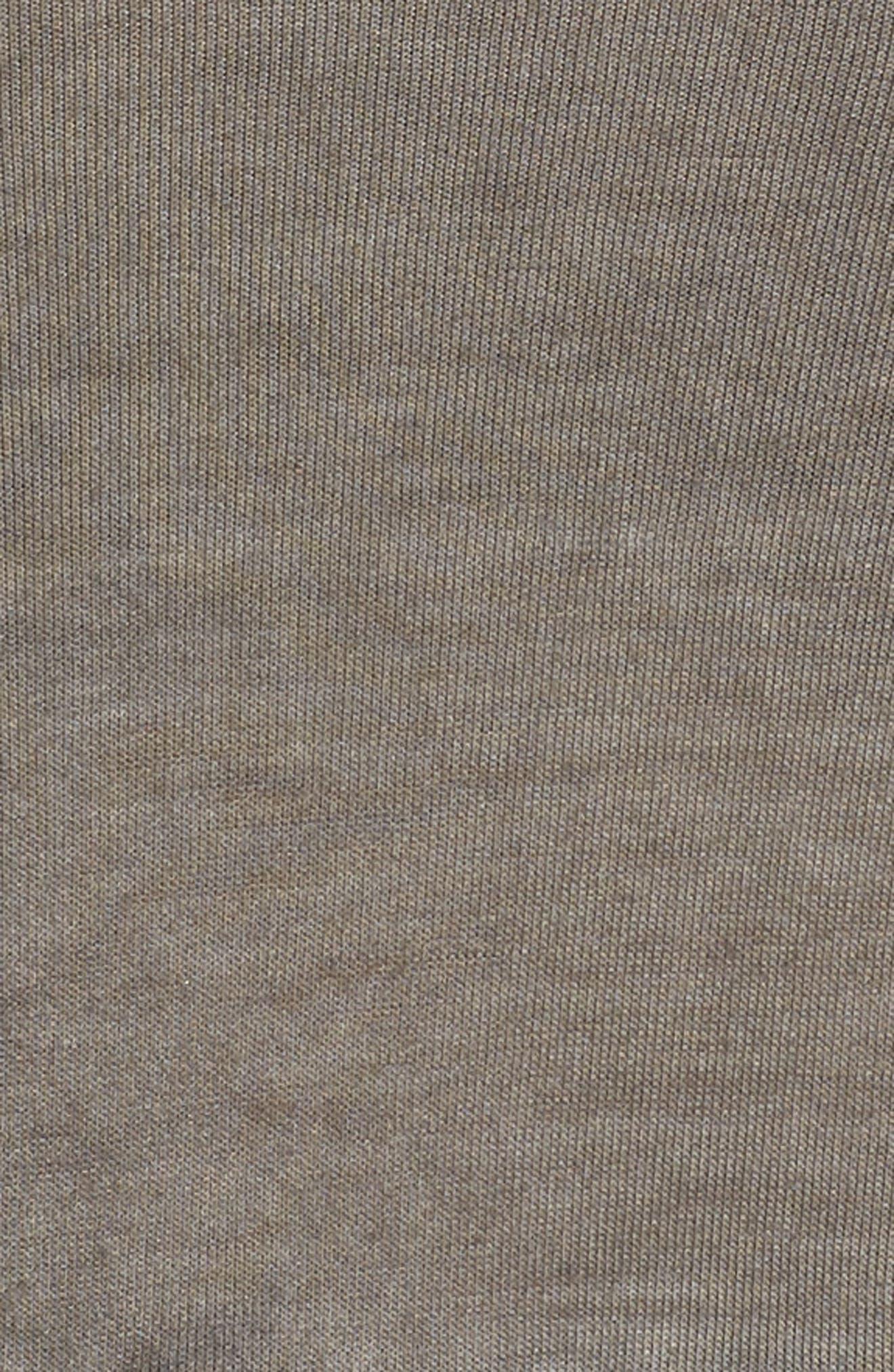 DANTELLE,                             Oil Dye Knit Lace Inset Top,                             Alternate thumbnail 5, color,                             FALCON