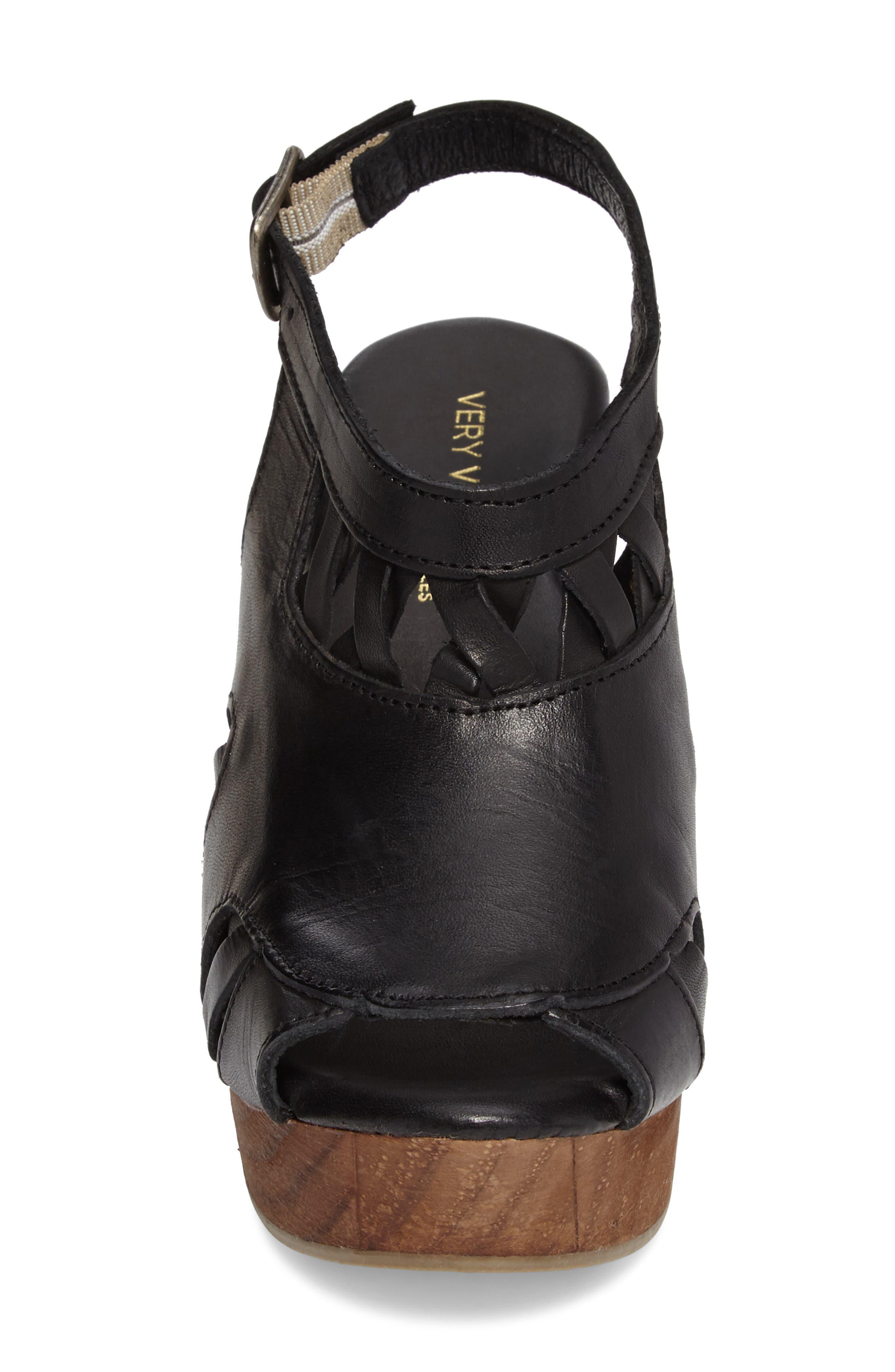 Sloane Platform Wedge Sandal,                             Alternate thumbnail 7, color,