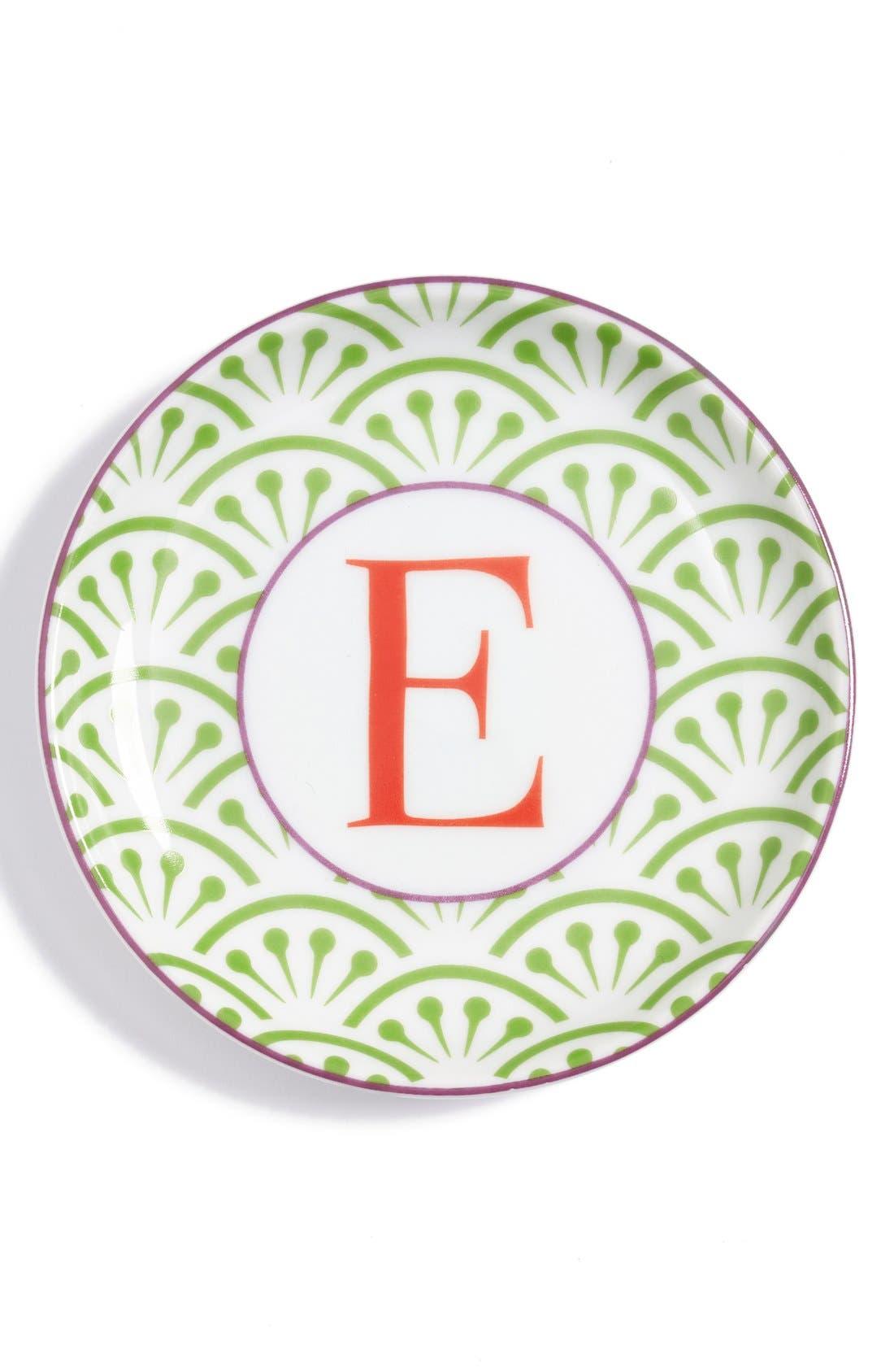 'L'Alphabet' Porcelain Tray,                             Main thumbnail 7, color,