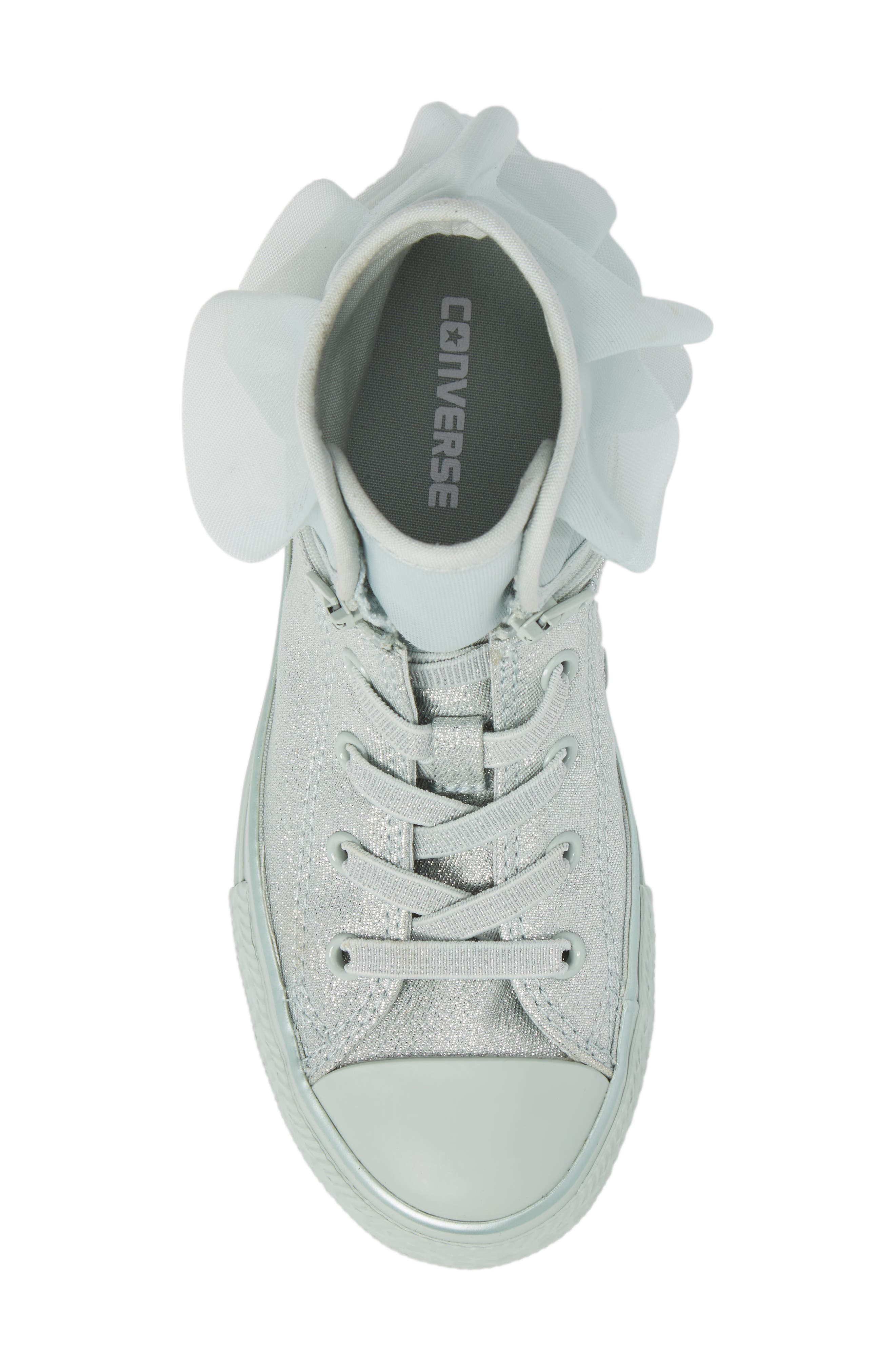 All Star<sup>®</sup> Mono Shine Party High Top Sneaker,                             Alternate thumbnail 5, color,