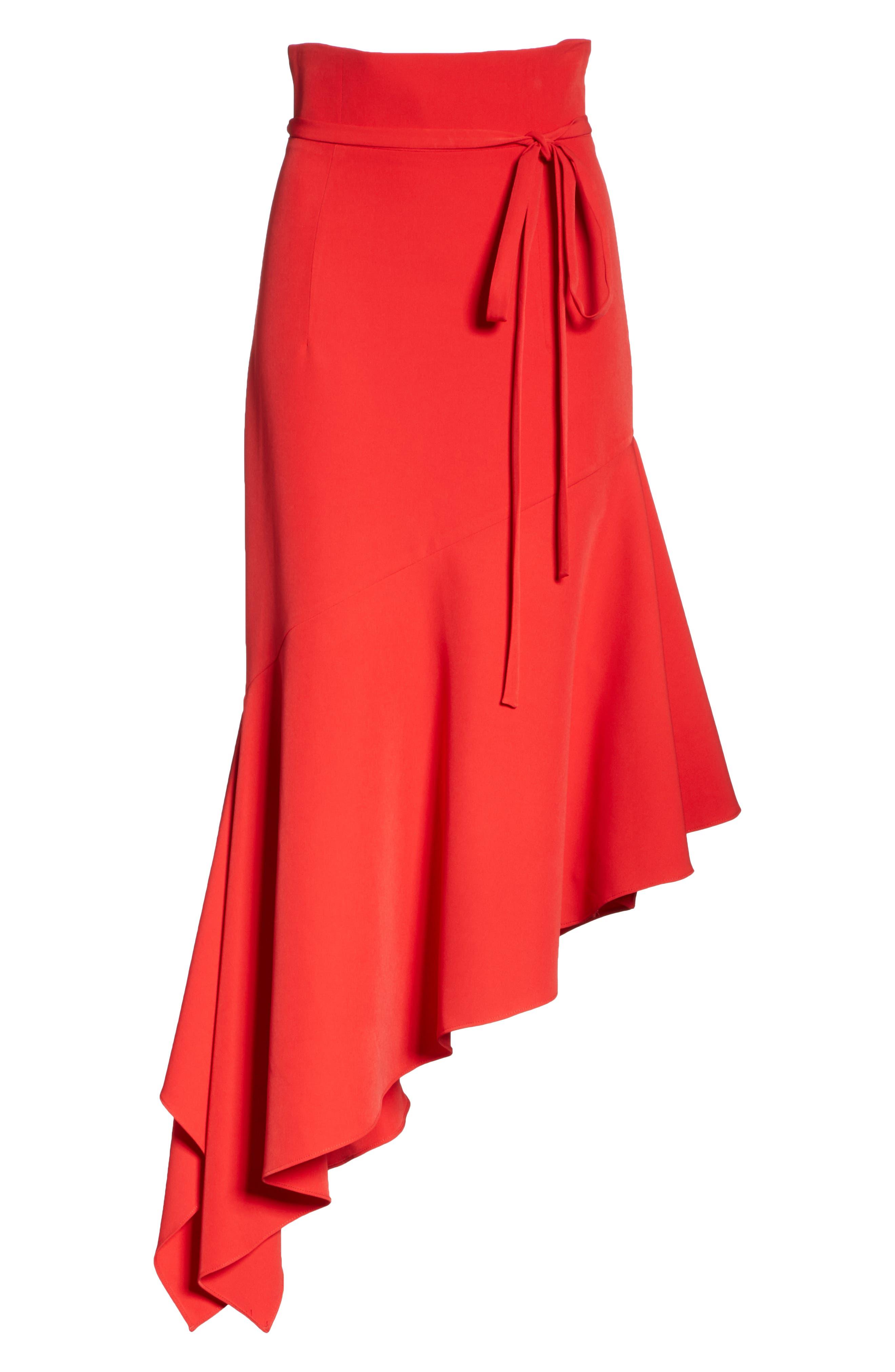 Italian Cady Maxi Skirt,                             Alternate thumbnail 6, color,                             607
