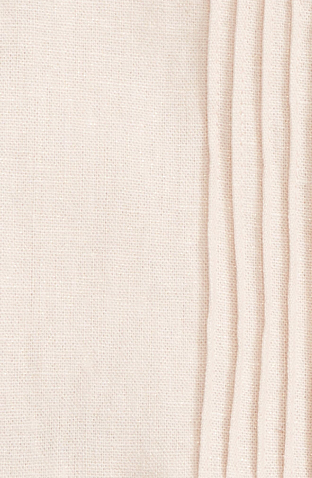 Sofia Pleated Linen Blend Dress,                             Alternate thumbnail 2, color,                             650