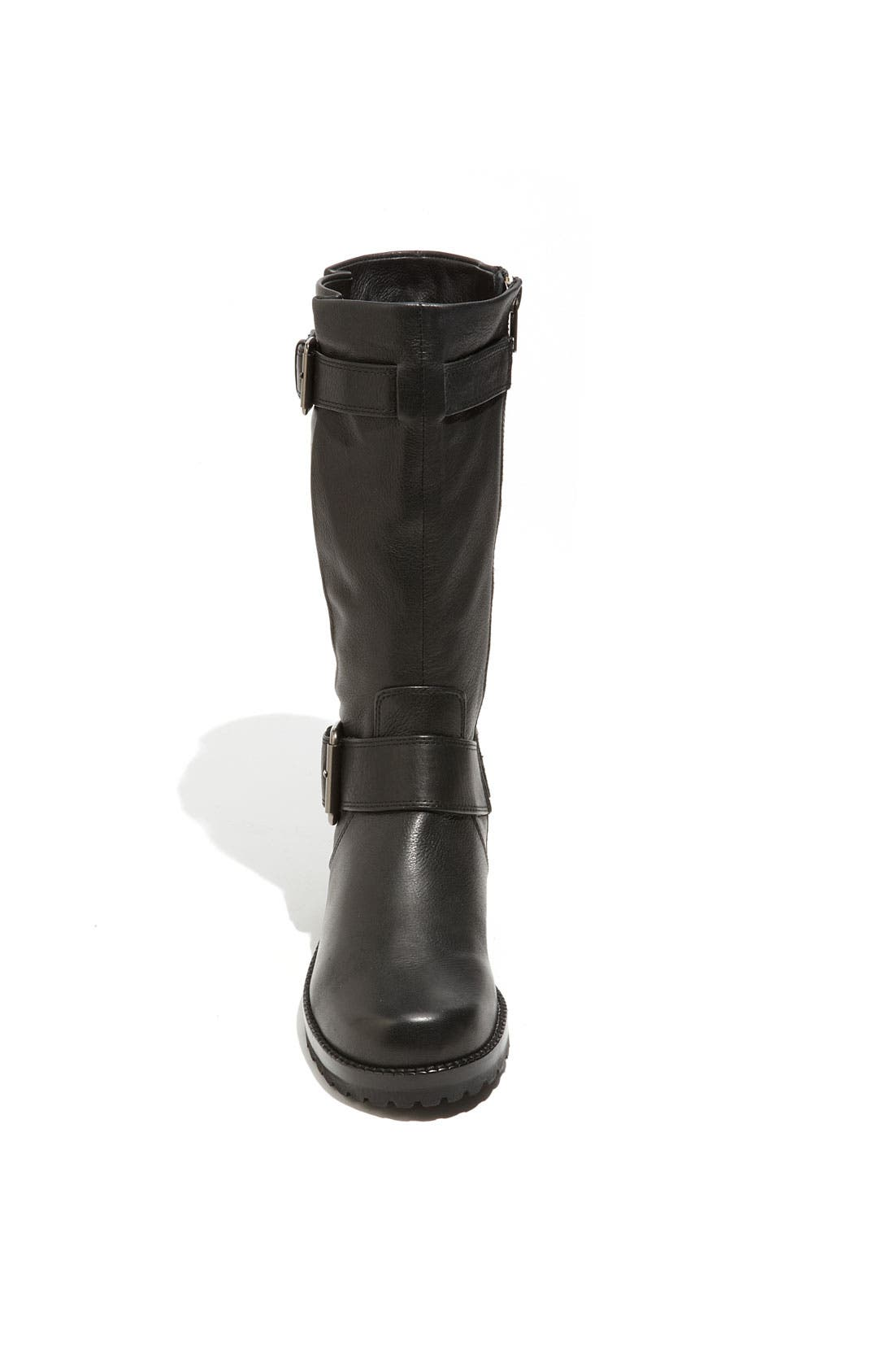 by Kenneth Cole 'Buckled Up' Boot,                             Alternate thumbnail 9, color,                             BLACK