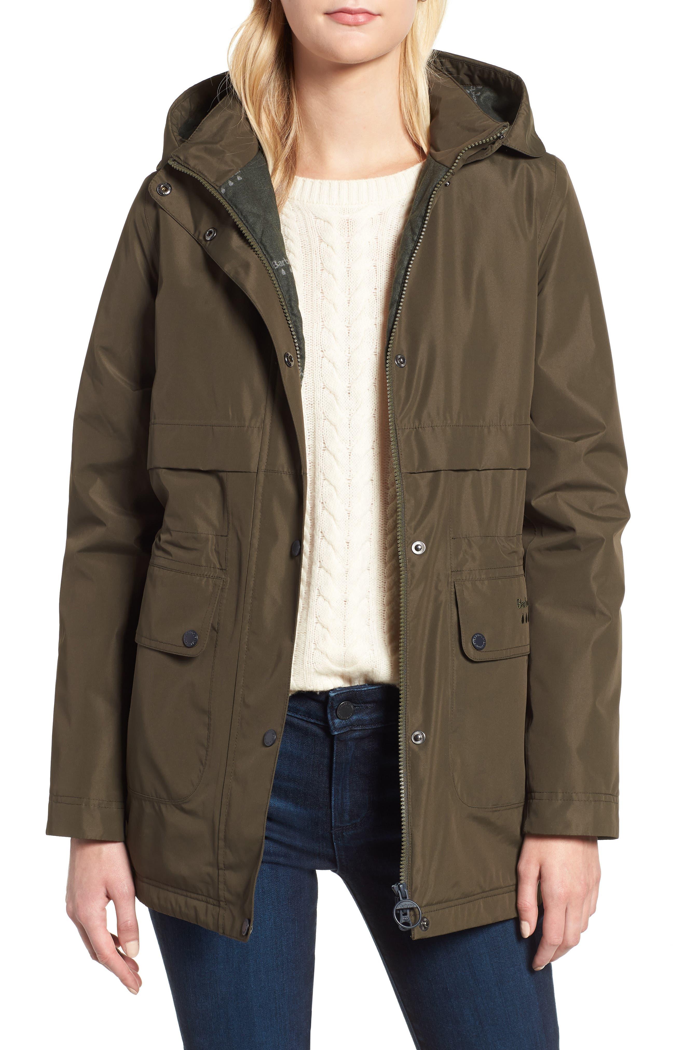 Barbour Altair Waterproof Hooded Jacket