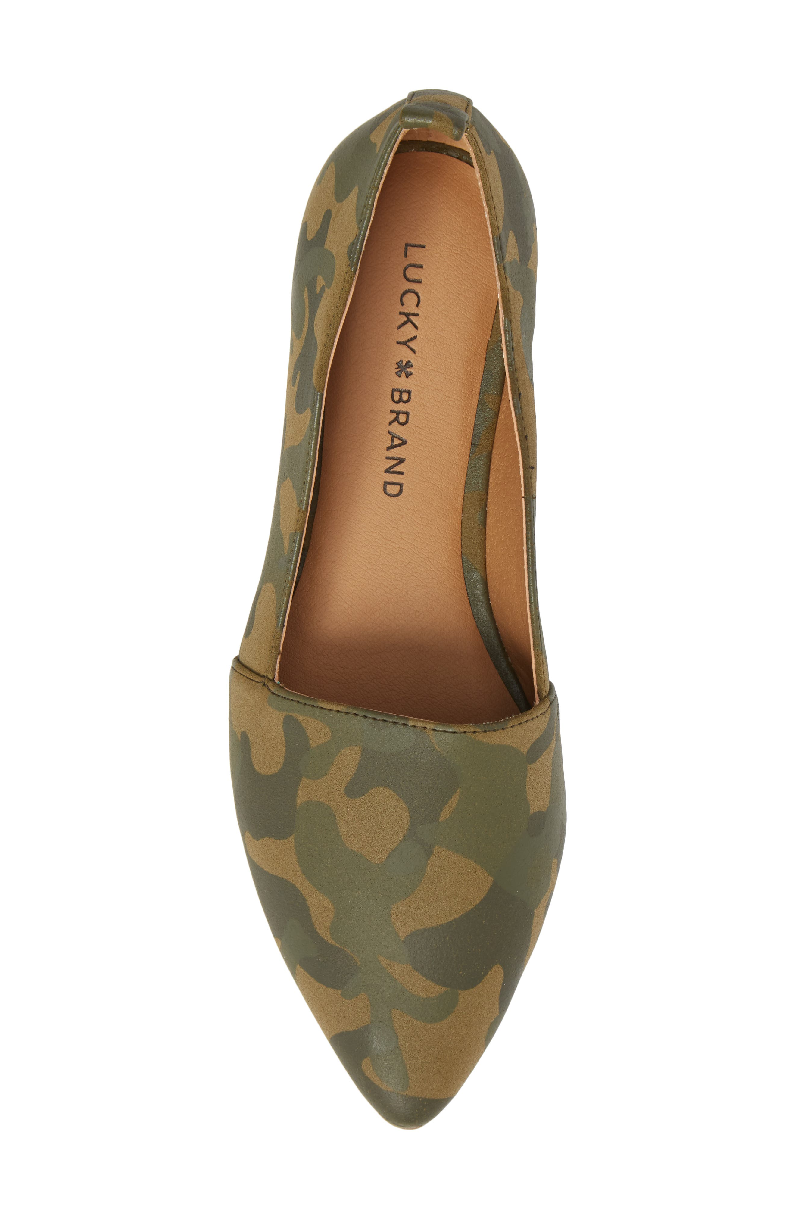 Beechmer Pointy Toe Flat,                             Alternate thumbnail 23, color,