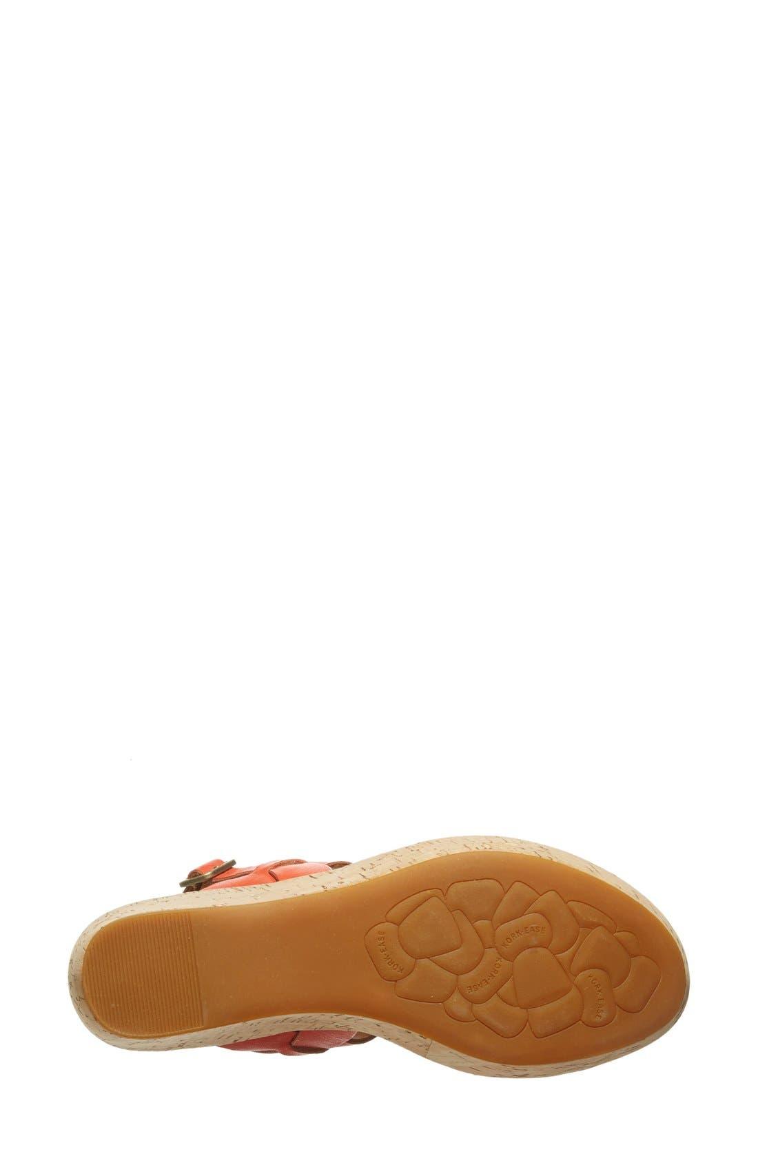 'Austin' Slingback Wedge Sandal,                             Alternate thumbnail 30, color,
