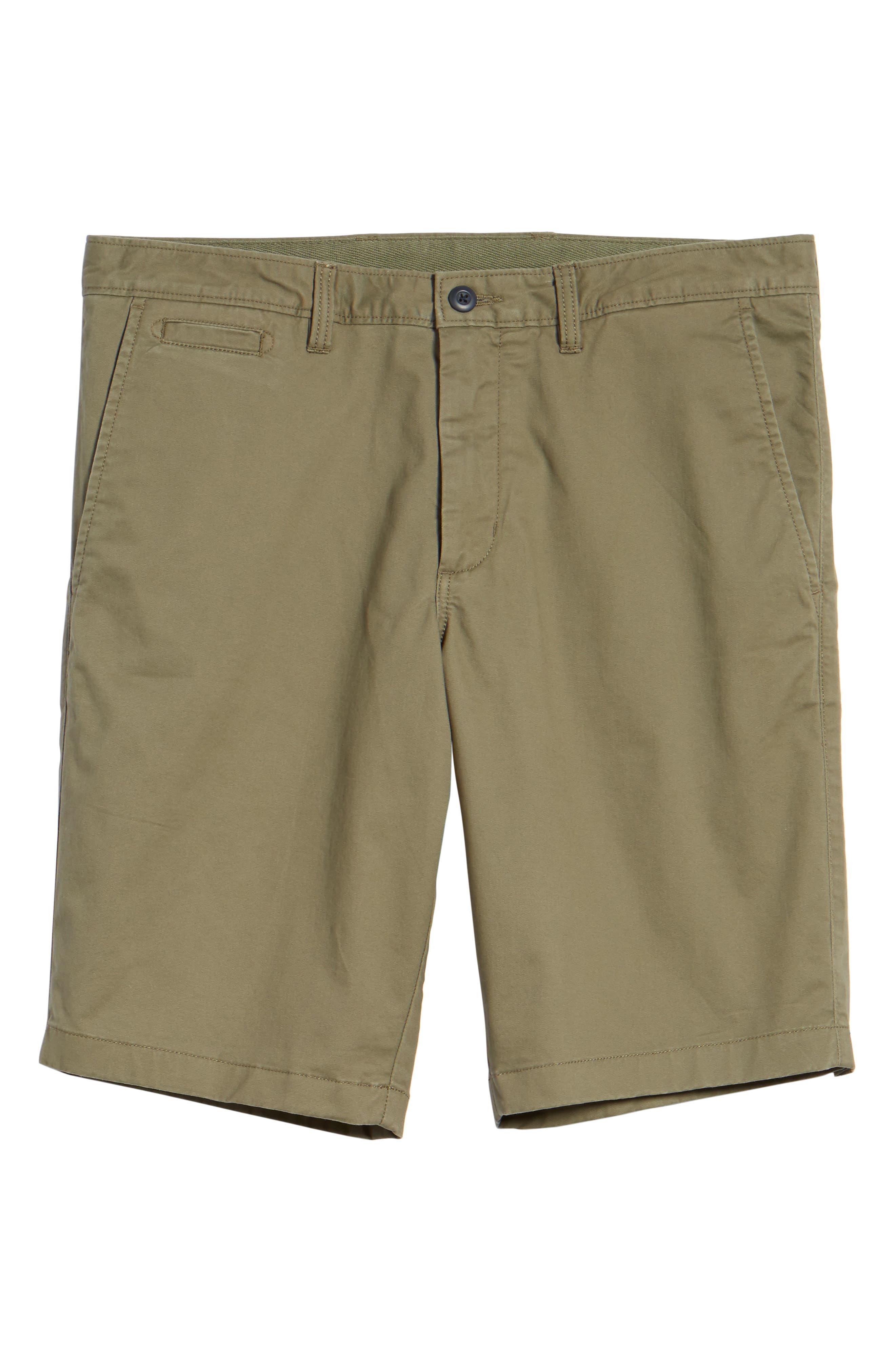 Ballard Slim Fit Stretch Chino 11-Inch Shorts,                             Alternate thumbnail 80, color,