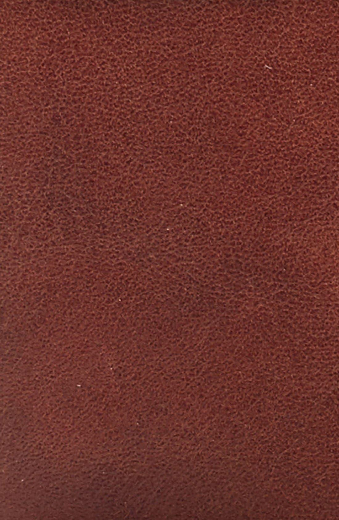 Leather Belt,                             Alternate thumbnail 2, color,