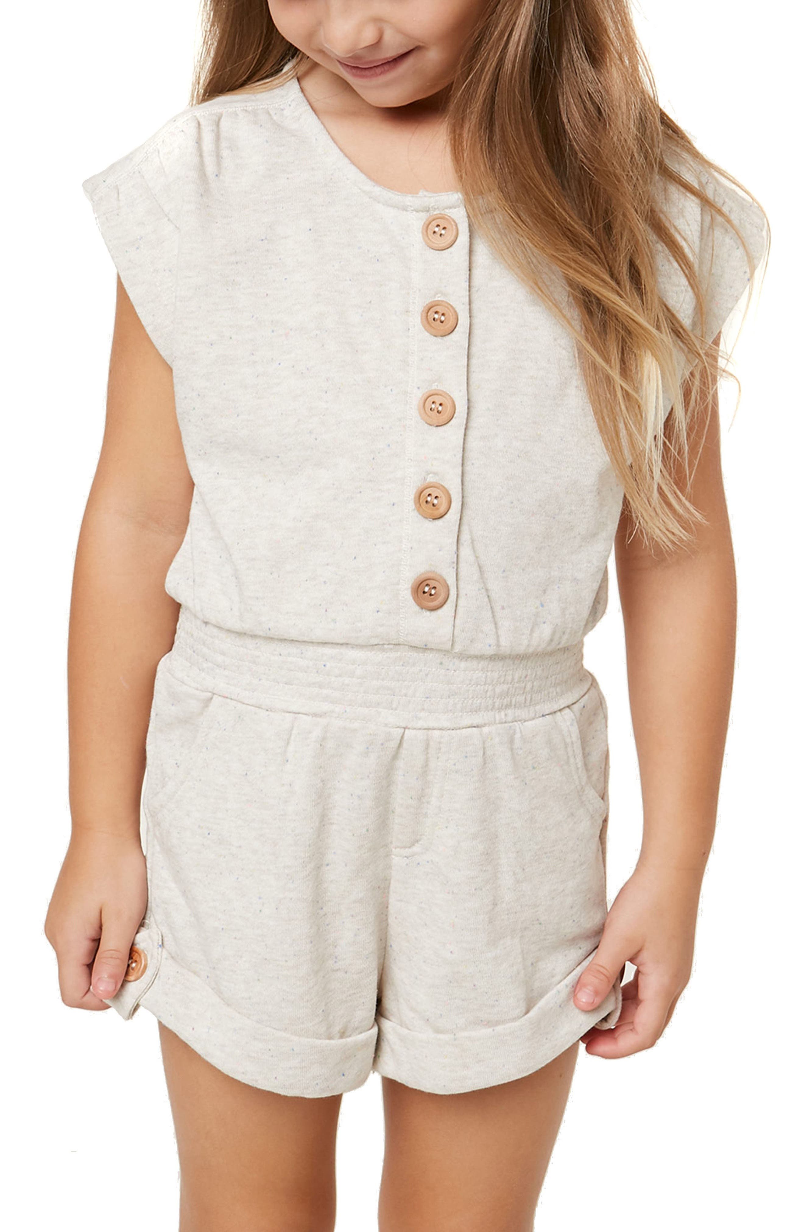 Cassie Knit Romper,                             Alternate thumbnail 3, color,                             NAKED
