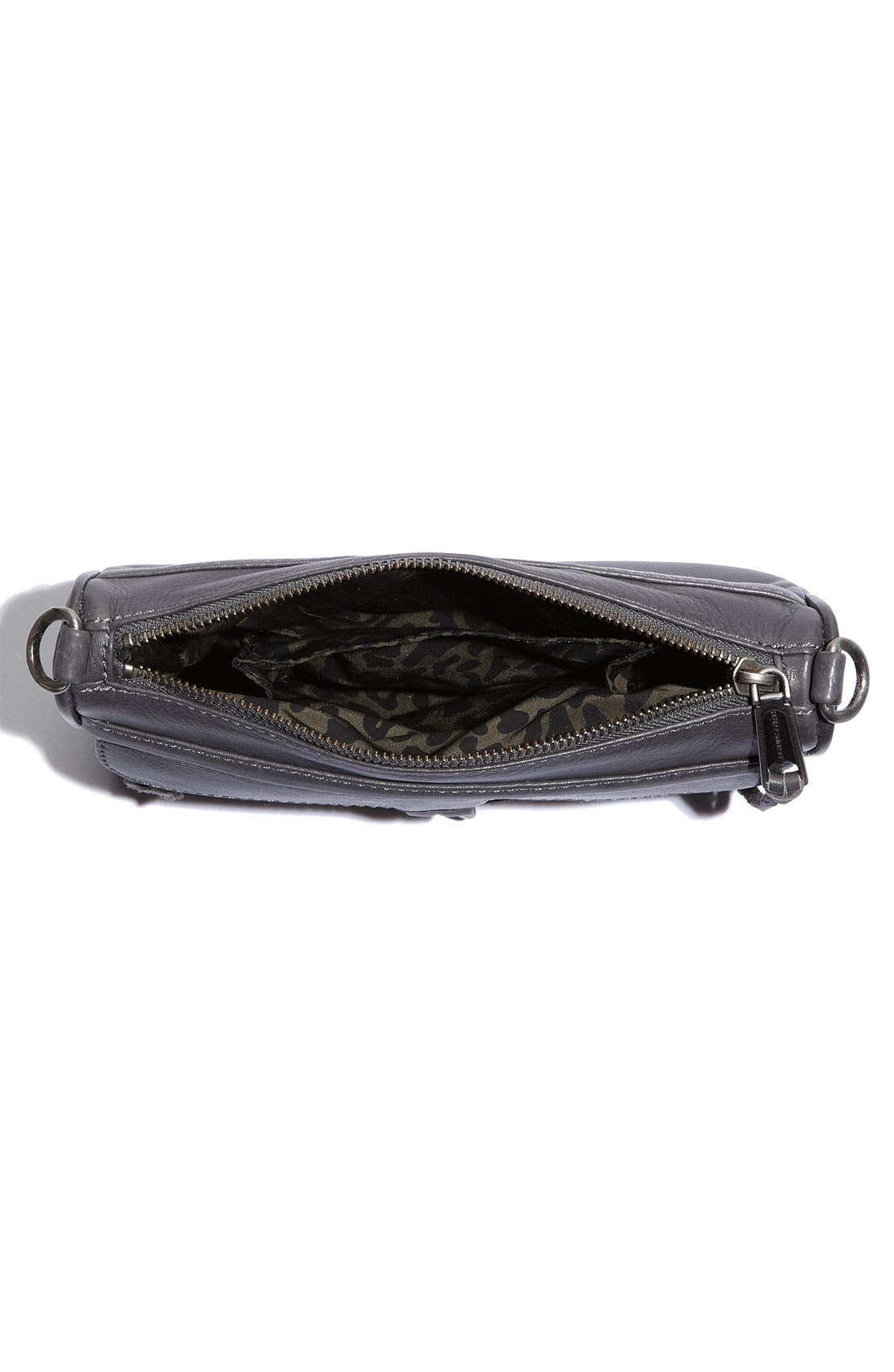 'Mini MAC' Croc Embossed Convertible Crossbody Bag,                             Alternate thumbnail 20, color,