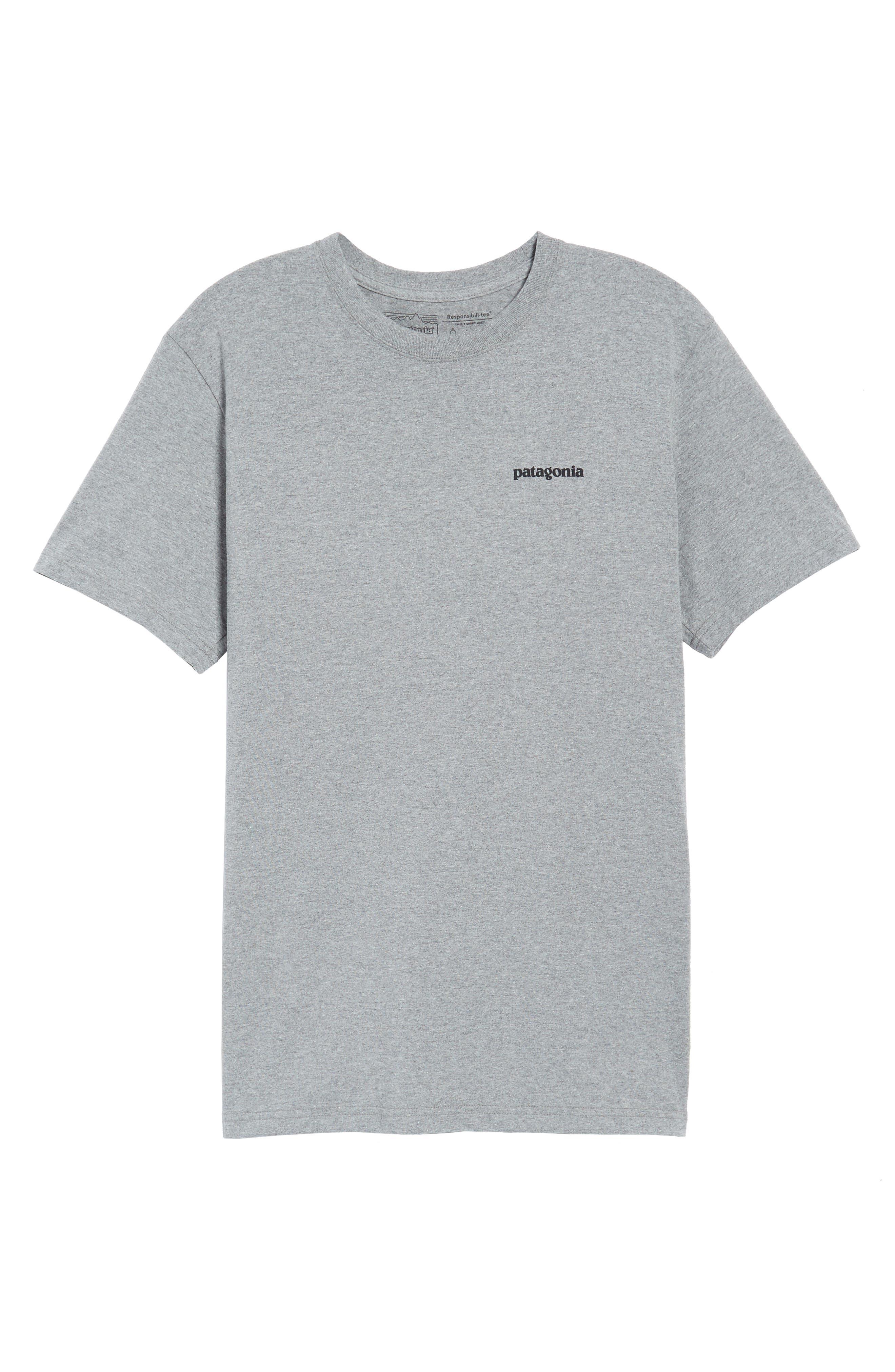 Glacier View Rising Responsibili-Tee T-Shirt,                             Alternate thumbnail 6, color,                             020
