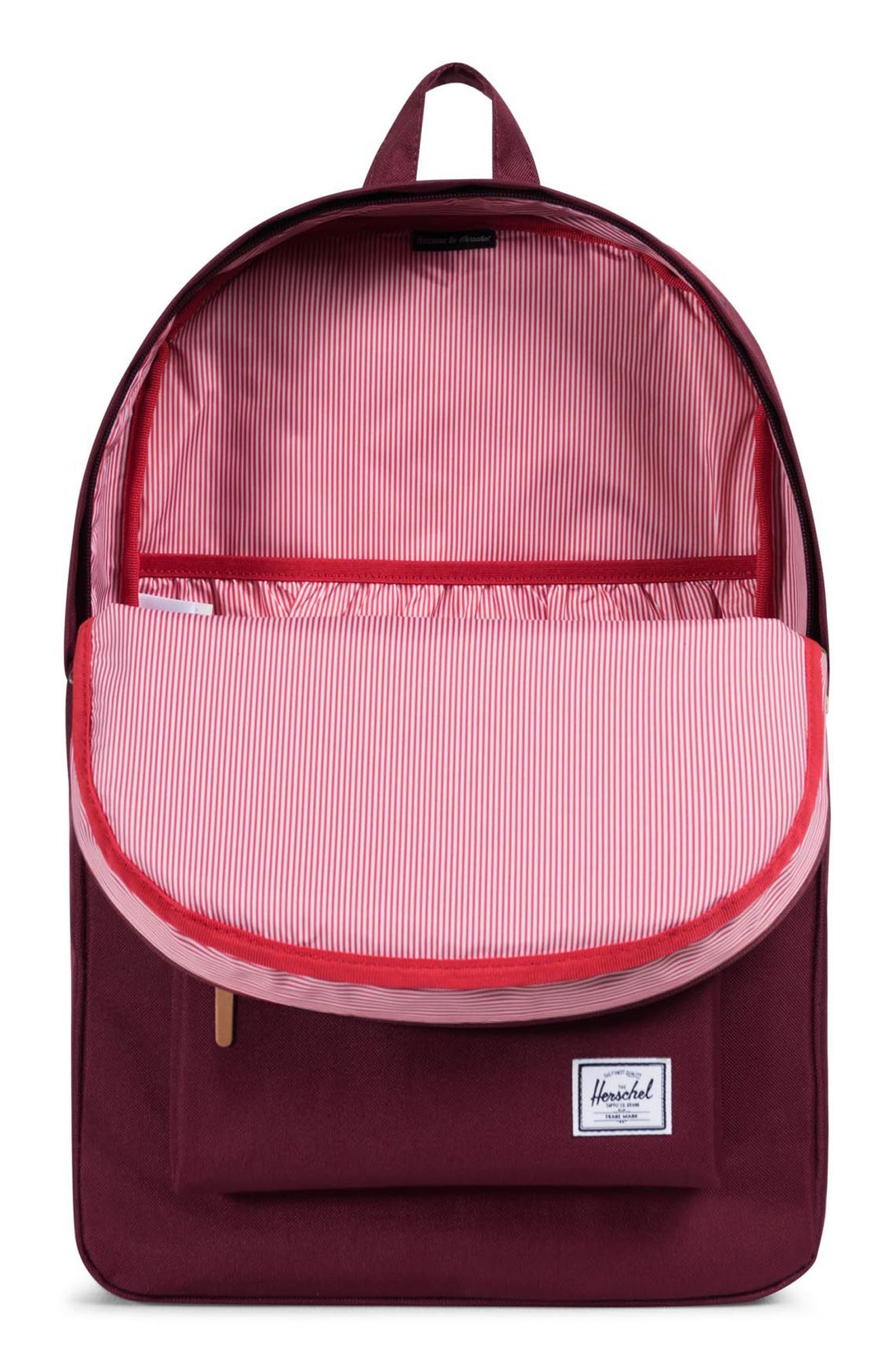 Heritage Offset Stripe Backpack,                             Alternate thumbnail 12, color,