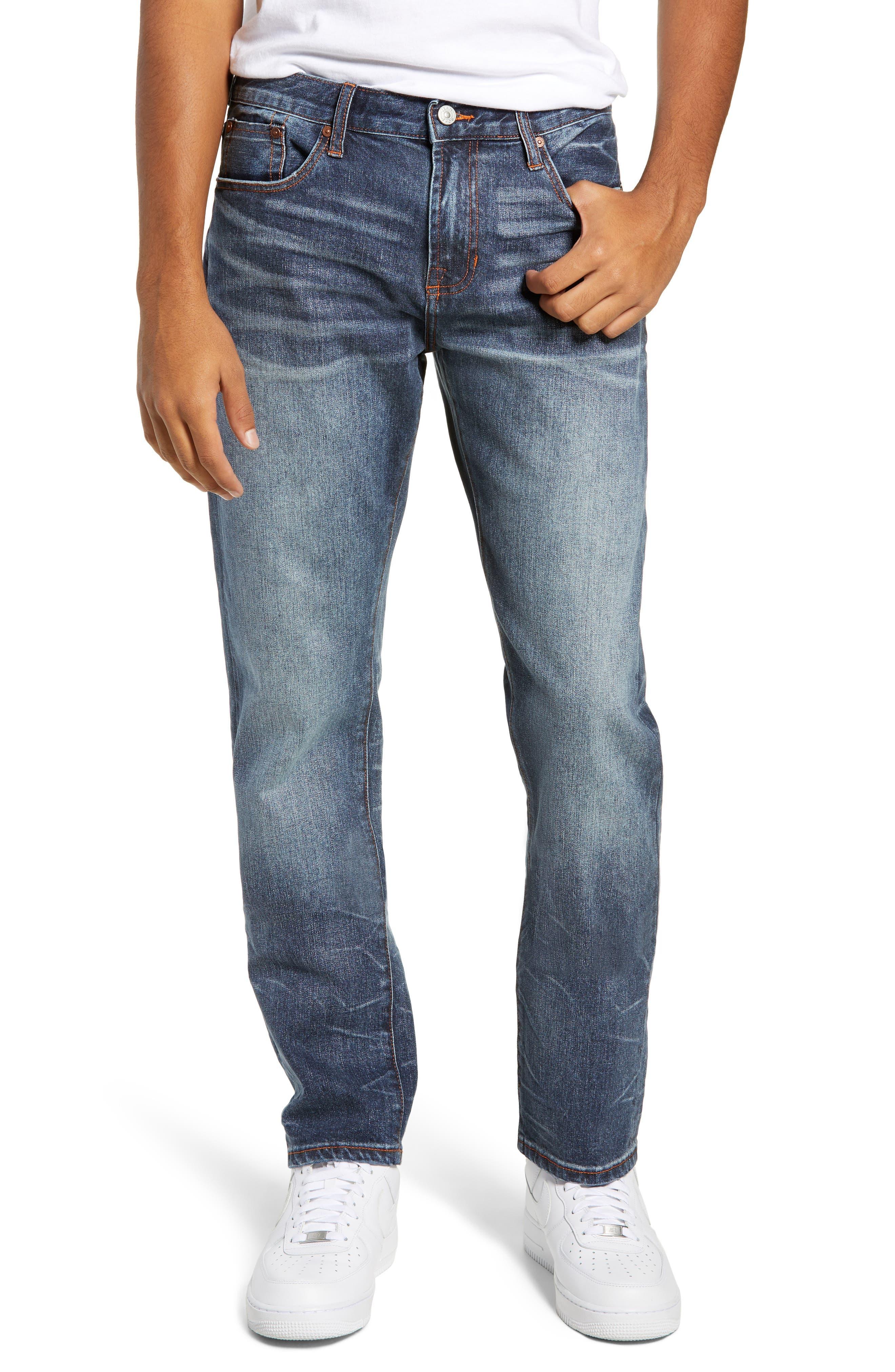 Mick Slim Fit Jeans,                             Main thumbnail 1, color,                             LAFAYETTE