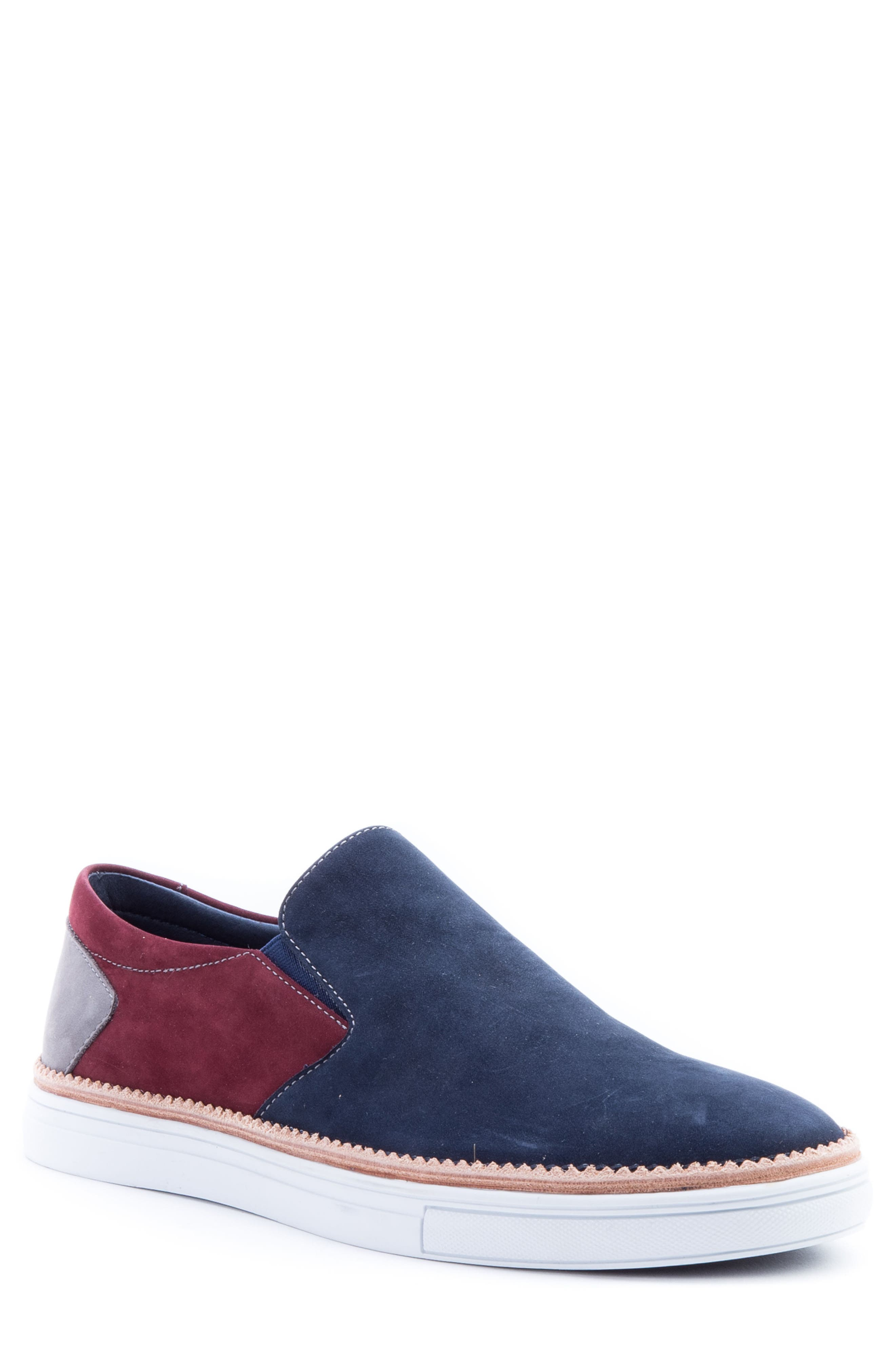 Zanzara Rivera Colorblocked Slip-On Sneaker, Blue