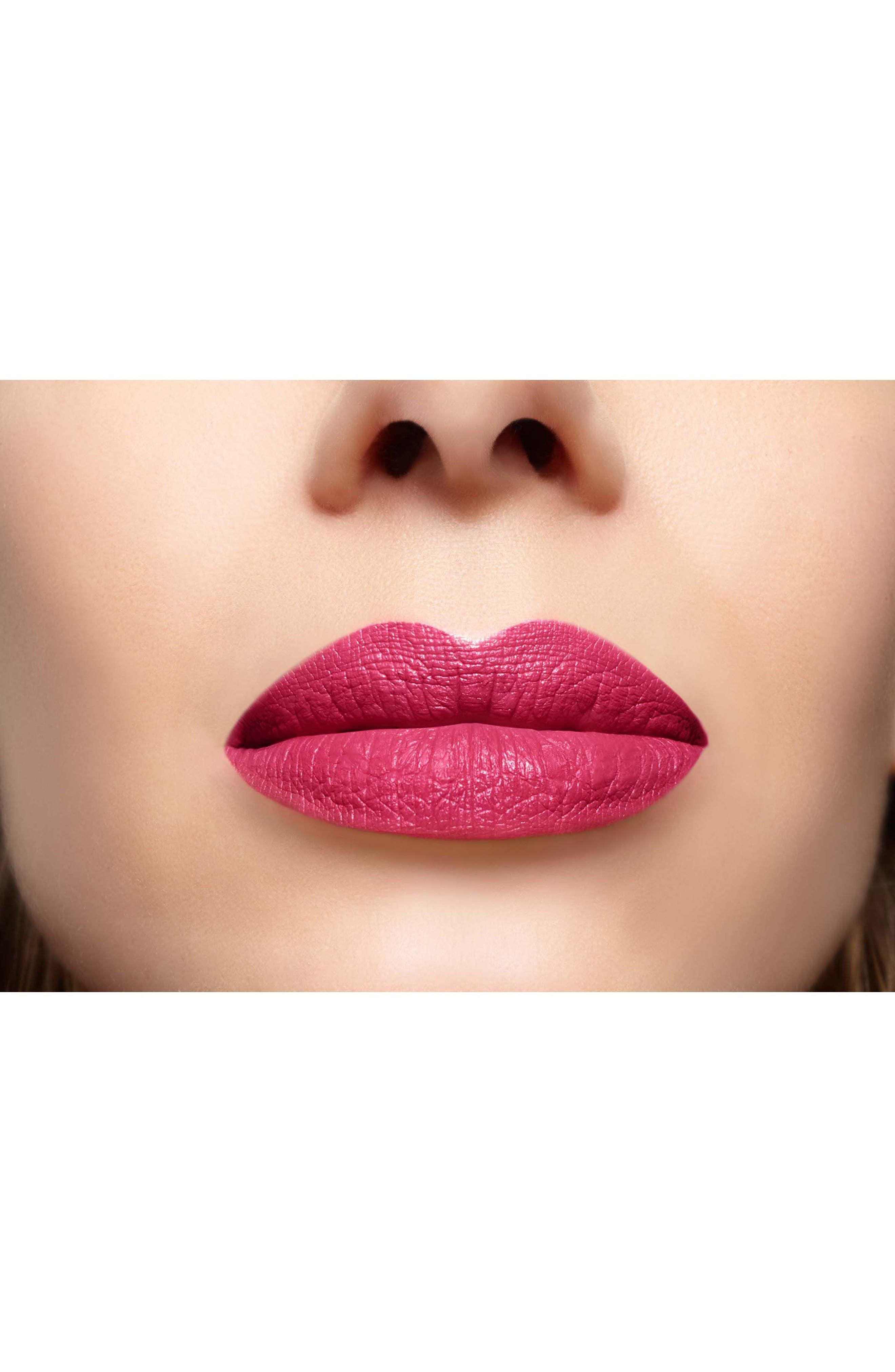 SPACE.NK.apothecary Lipstick Queen Famous Last Words Liquid Lipstick,                             Alternate thumbnail 3, color,                             ROSEBUD - BRIGHT PINK