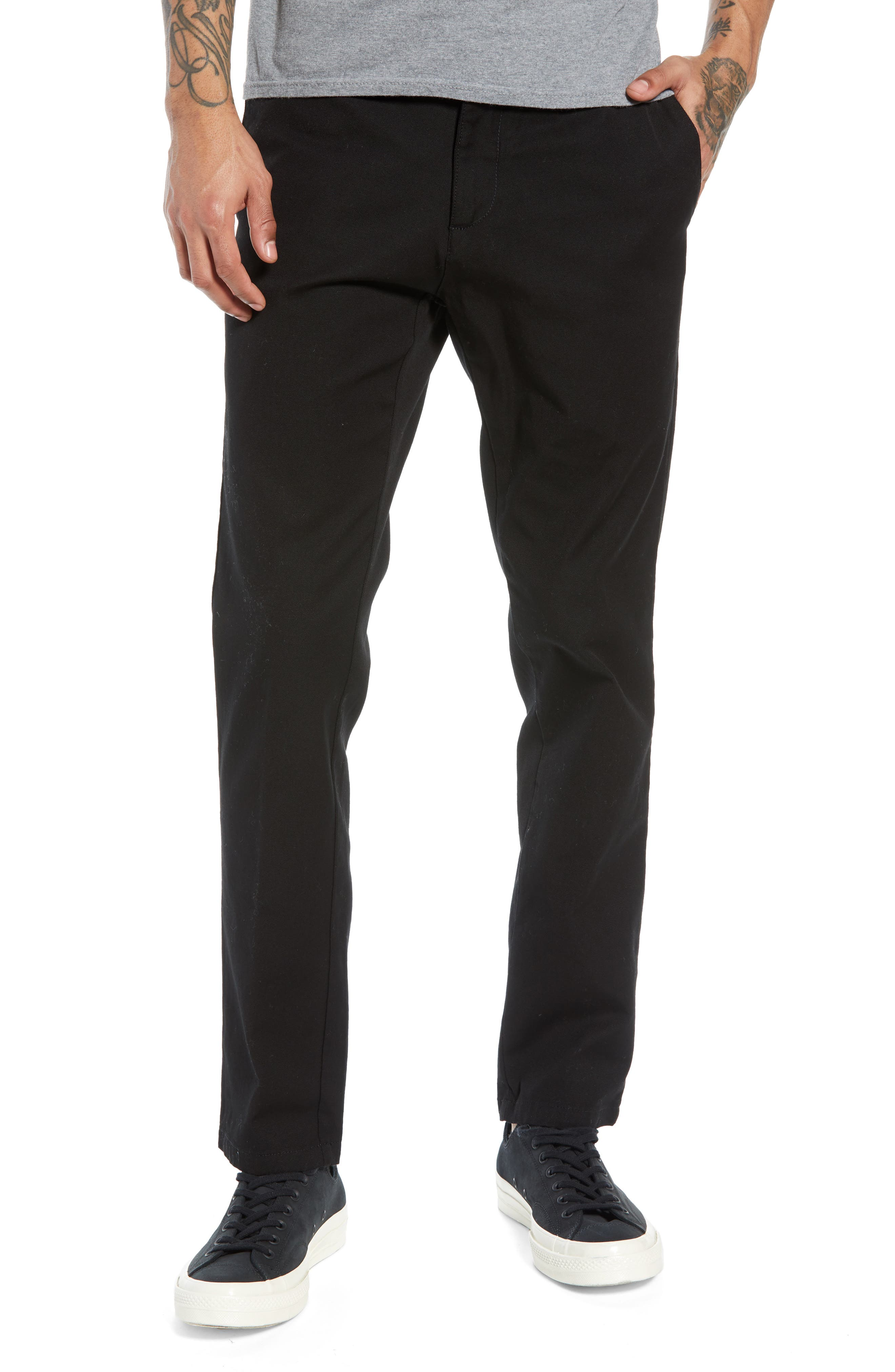 Sid Slim Fit Chinos,                         Main,                         color, 001