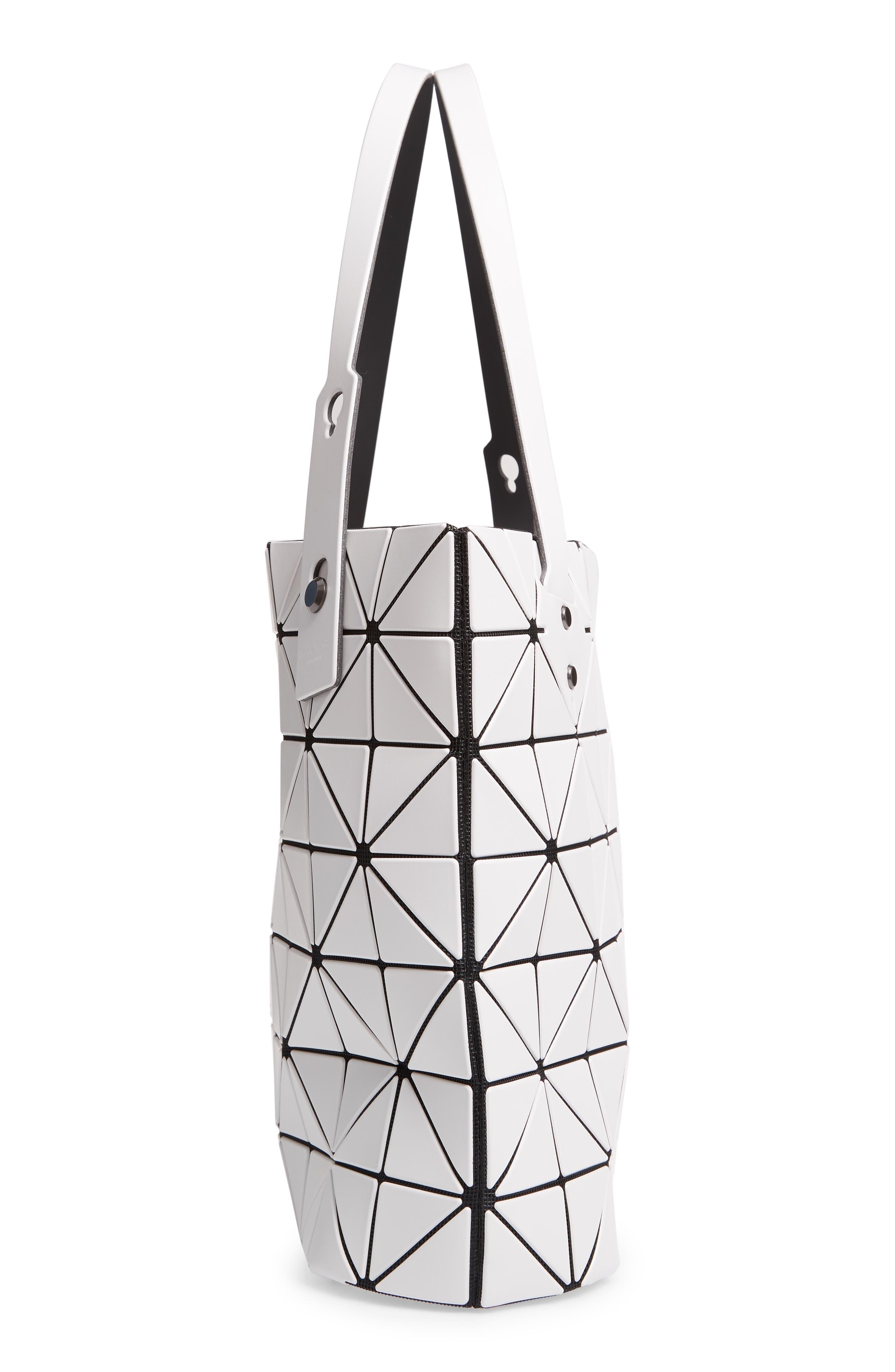 Rock Matte Shoulder Bag,                             Alternate thumbnail 5, color,                             LIGHT GRAY