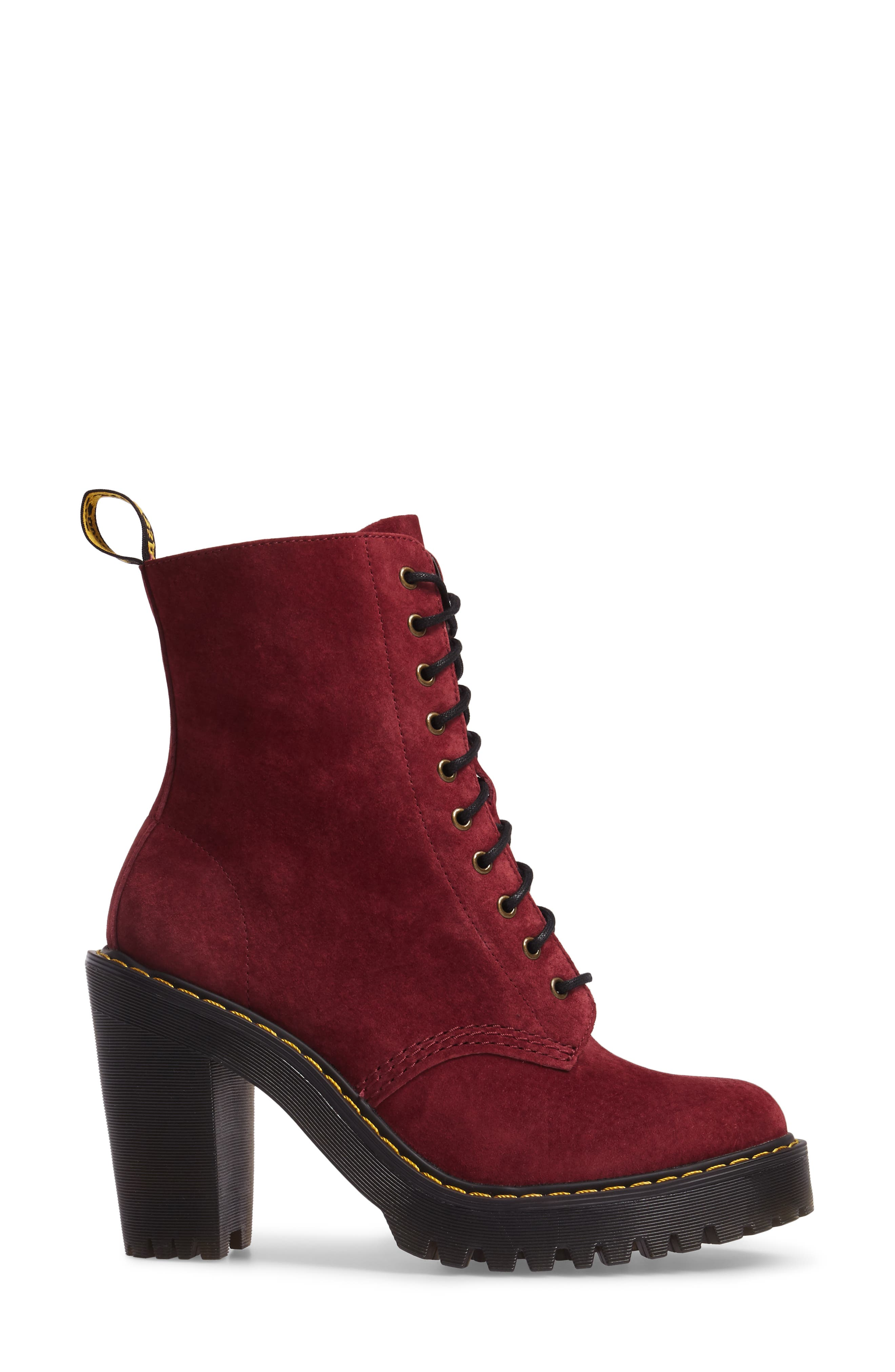 Kendra Heeled Bootie,                             Alternate thumbnail 6, color,