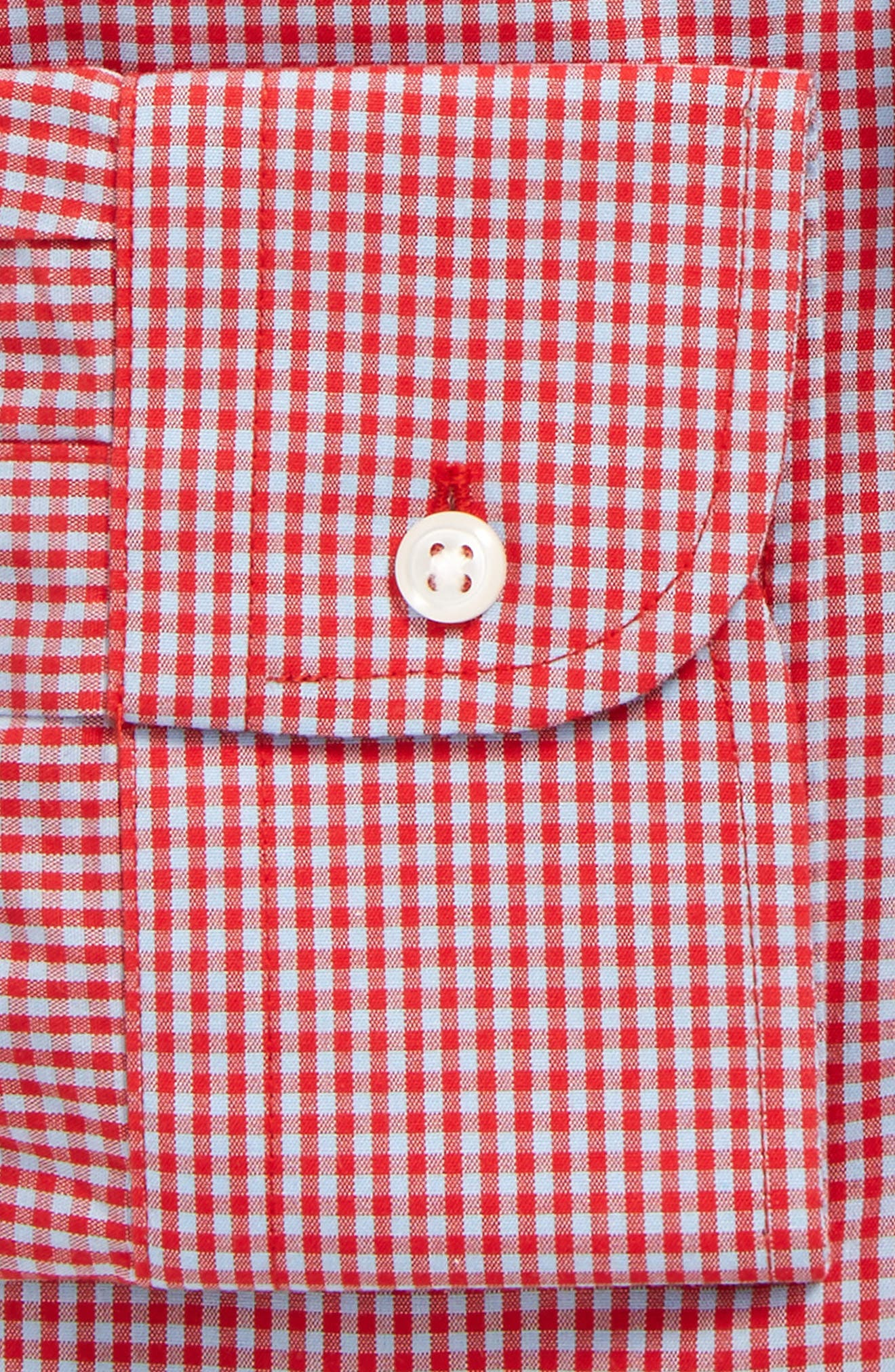 Smartcare Classic Fit Check Dress Shirt,                             Alternate thumbnail 24, color,