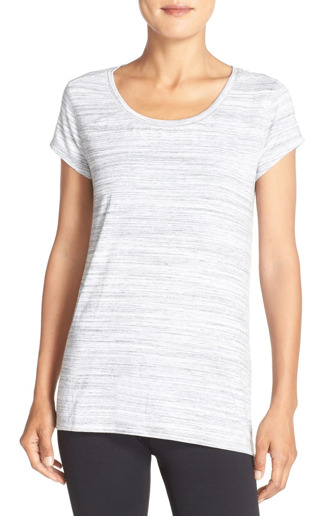 Swoop Cutout Tee,                         Main,                         color, 031