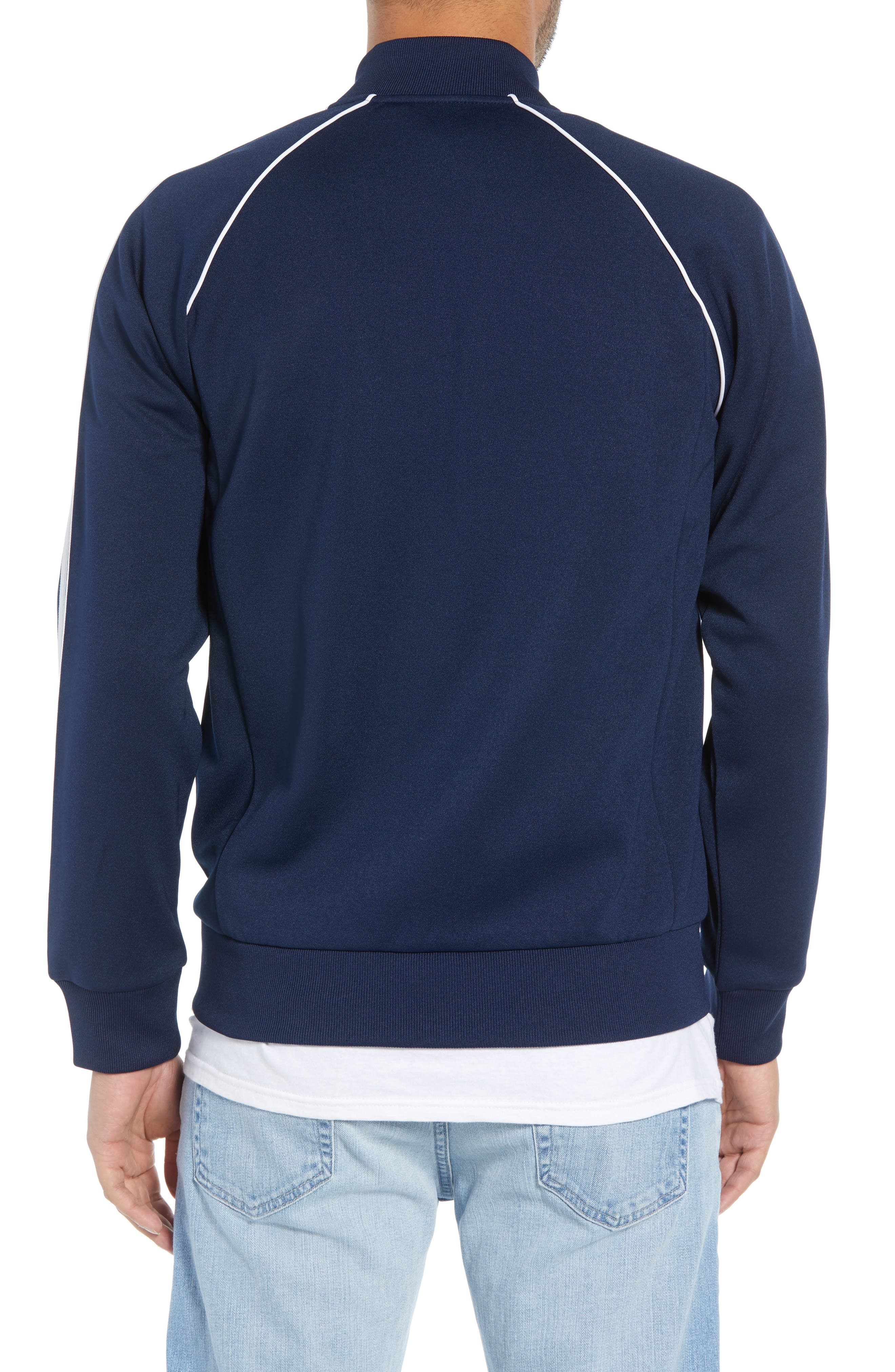adidas SST Track Jacket,                             Alternate thumbnail 2, color,                             COLLEGIATE NAVY
