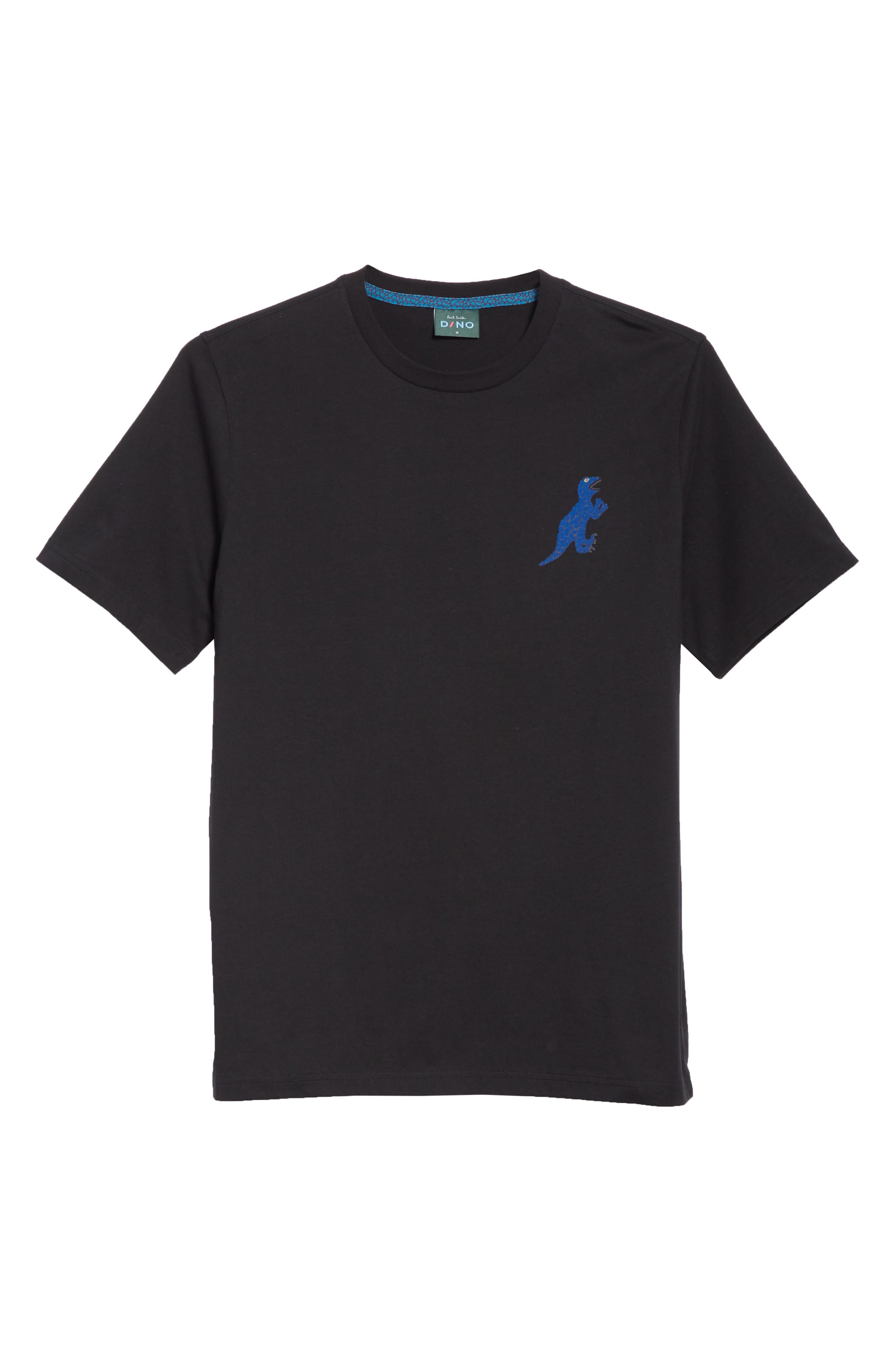 Dino Graphic T-Shirt,                             Alternate thumbnail 6, color,                             BLACK