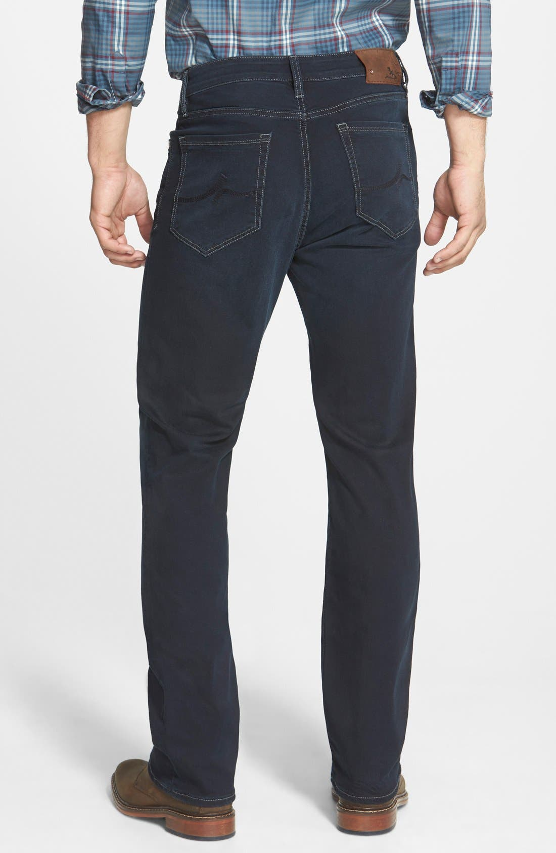 'Charisma' Classic Relaxed Fit Jeans,                             Alternate thumbnail 4, color,                             MIDNIGHT AUSTIN