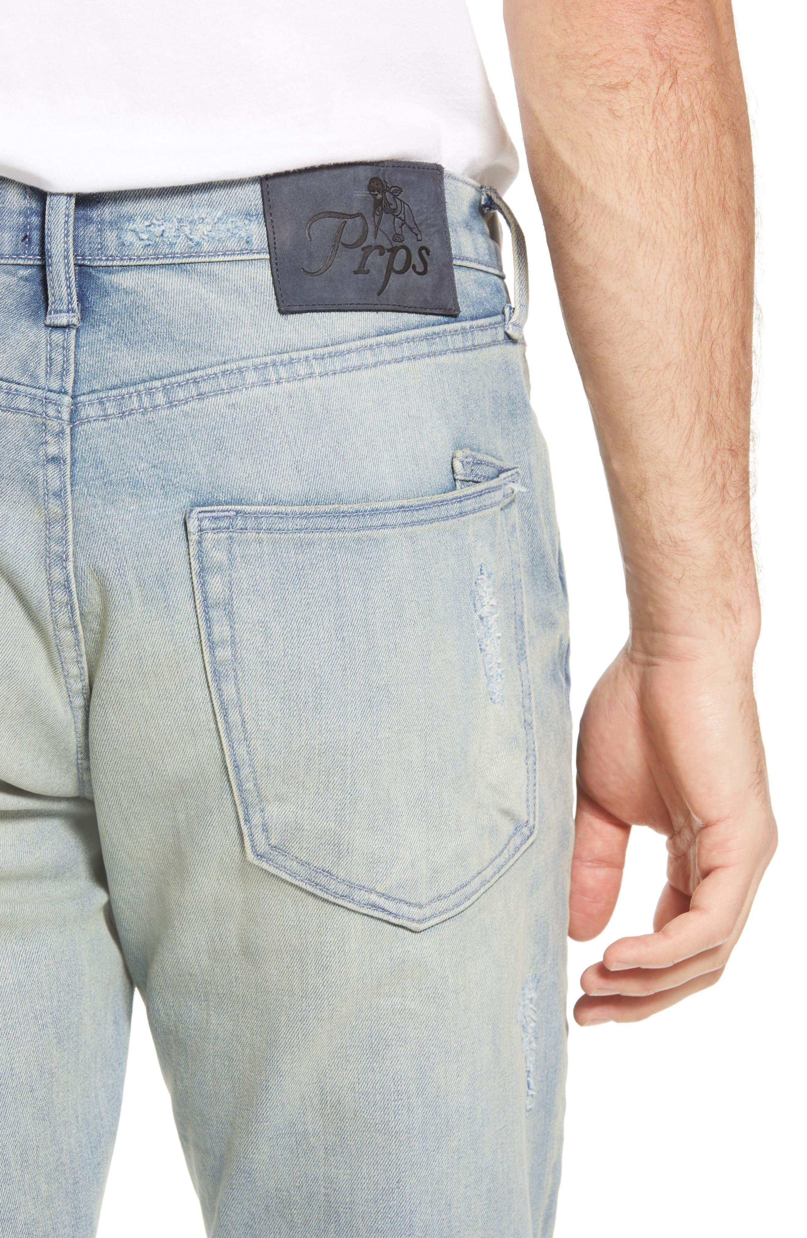 Windsor Slim Fit Jeans,                             Alternate thumbnail 4, color,                             LANGUID