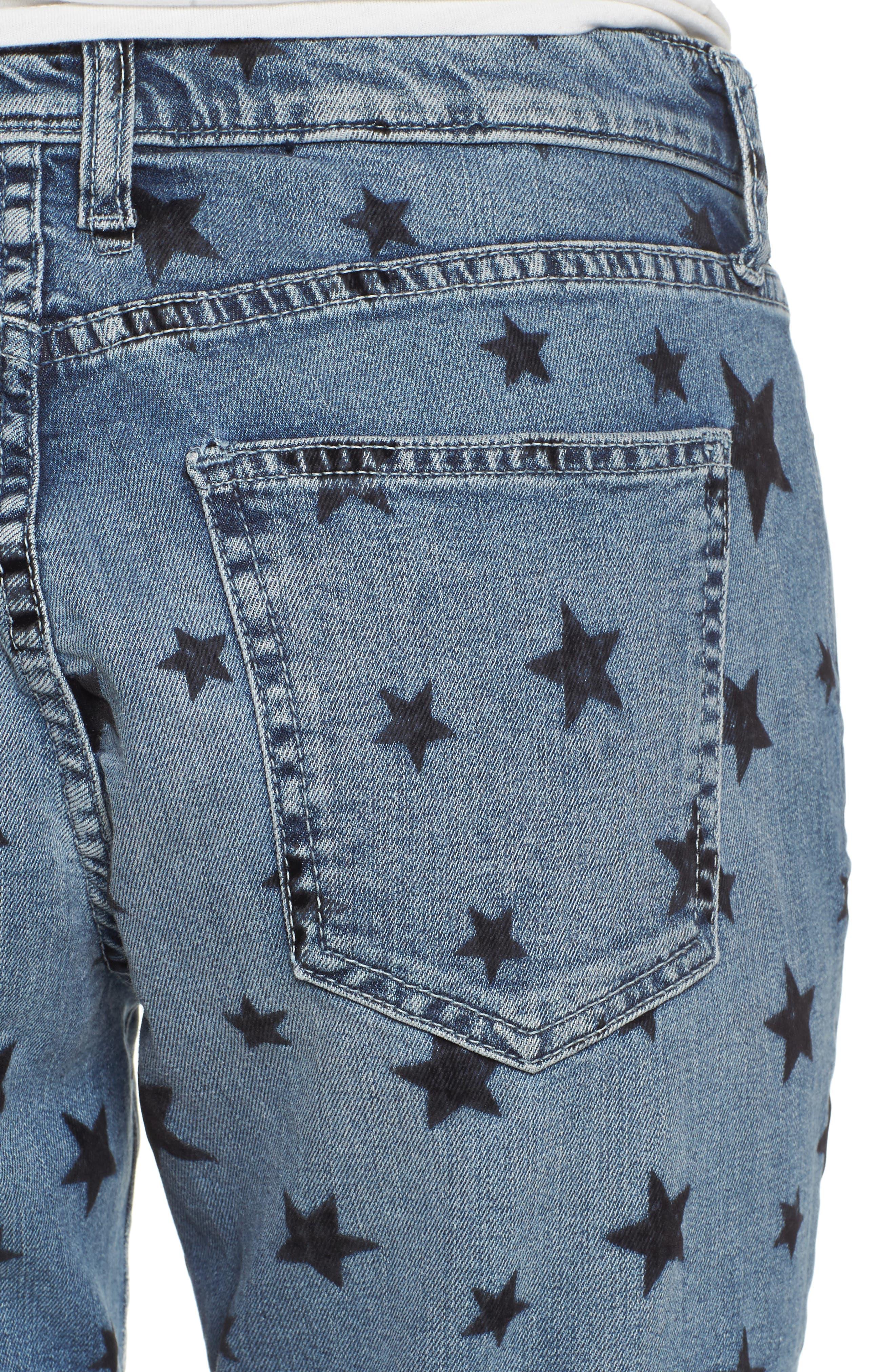 The Fling Boyfriend Jeans,                             Alternate thumbnail 4, color,