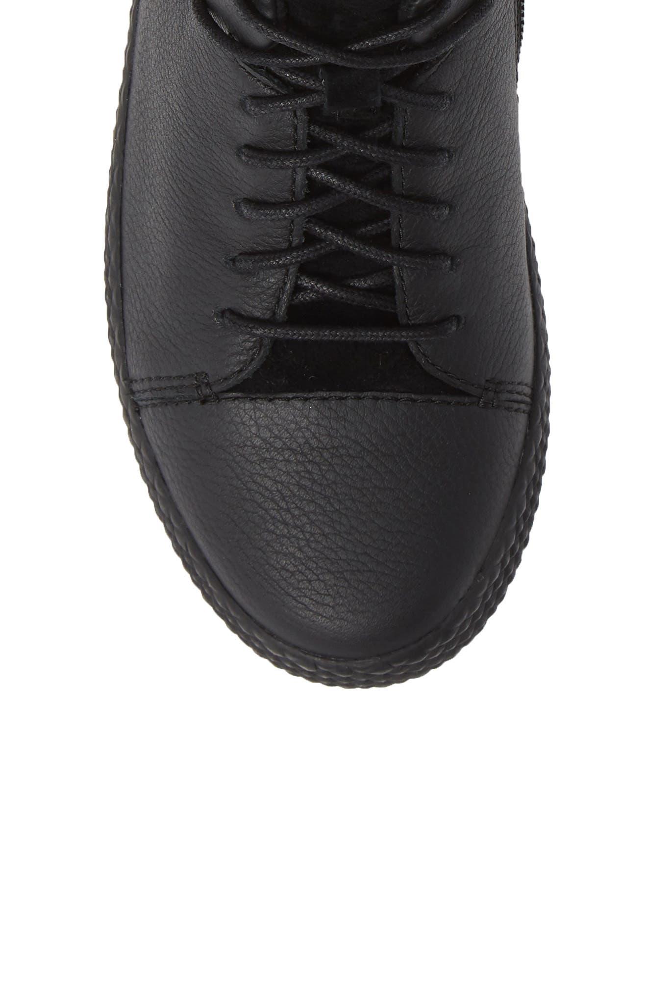 Pursuit Sneaker,                             Alternate thumbnail 5, color,                             BLACK