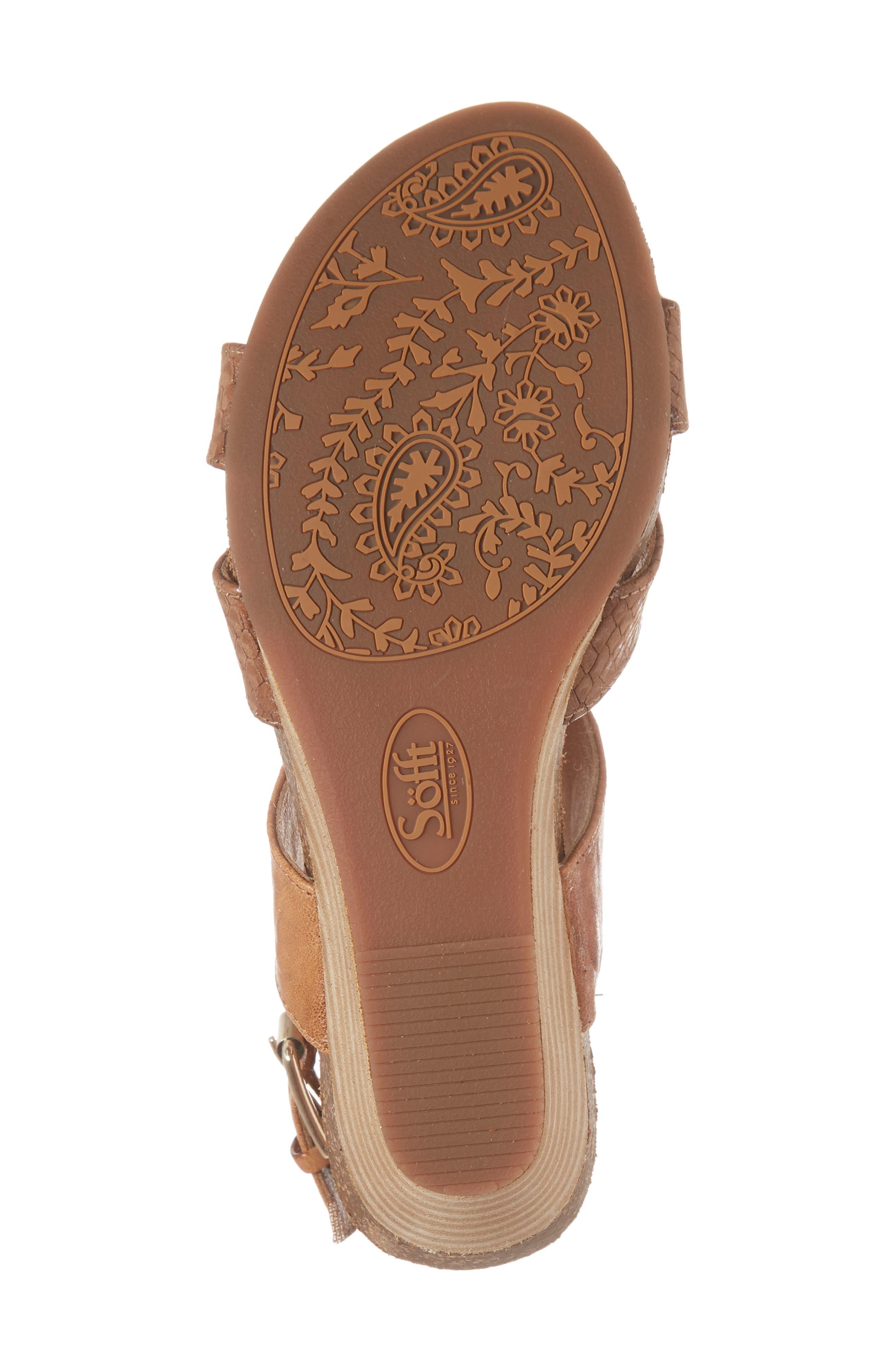 Velden Wedge Sandal,                             Alternate thumbnail 18, color,