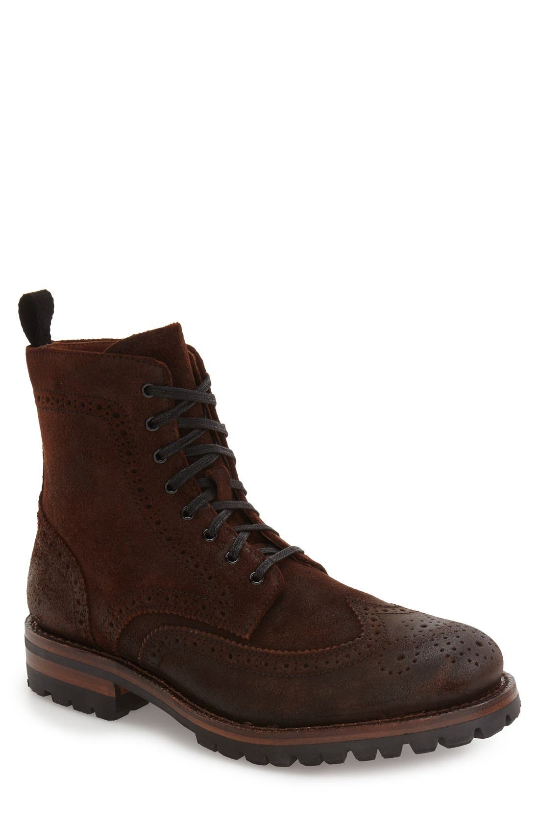George Wingtip Boot,                         Main,                         color, 230