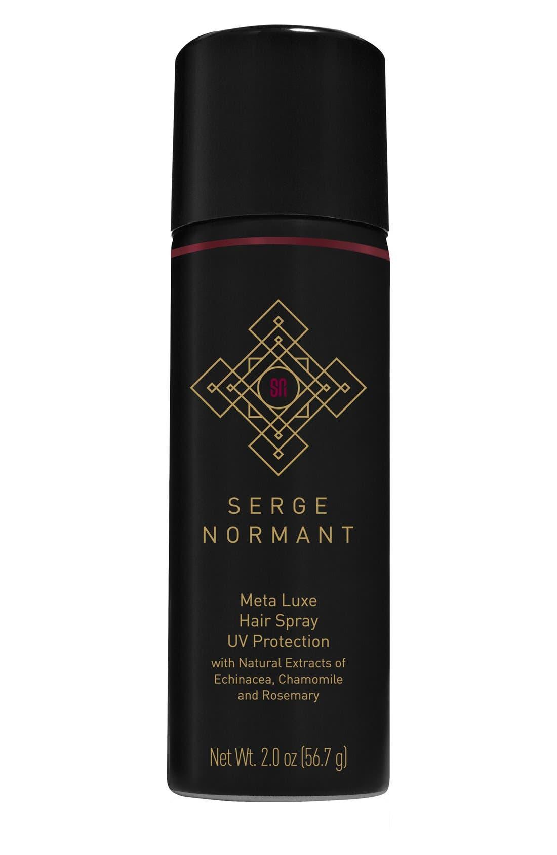 SERGE NORMANT,                             'Meta Luxe' Mini Hairspray,                             Main thumbnail 1, color,                             000