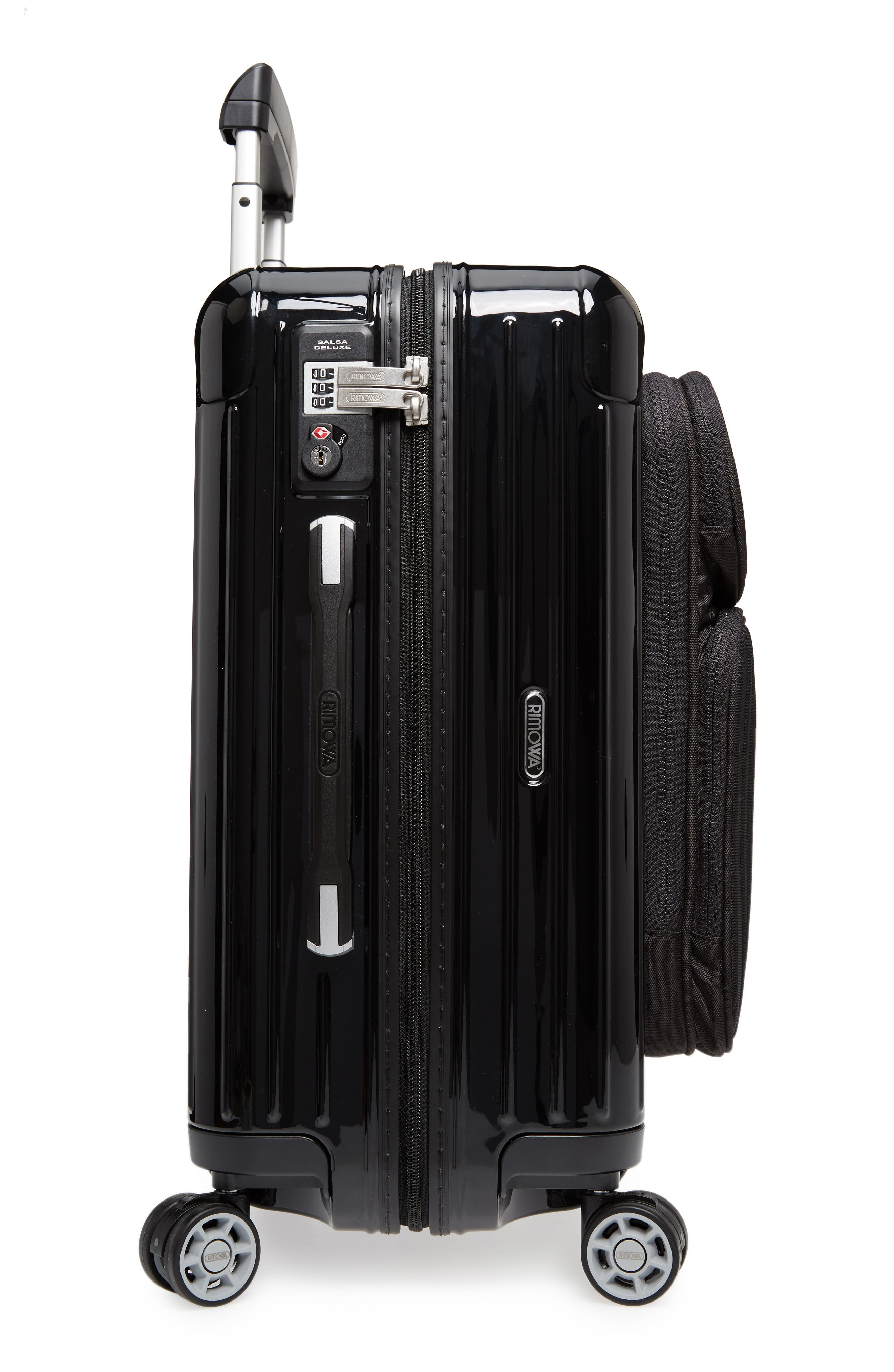 Salsa Deluxe Cabin Multiwheel<sup>®</sup> Carry-On,                             Alternate thumbnail 3, color,                             001