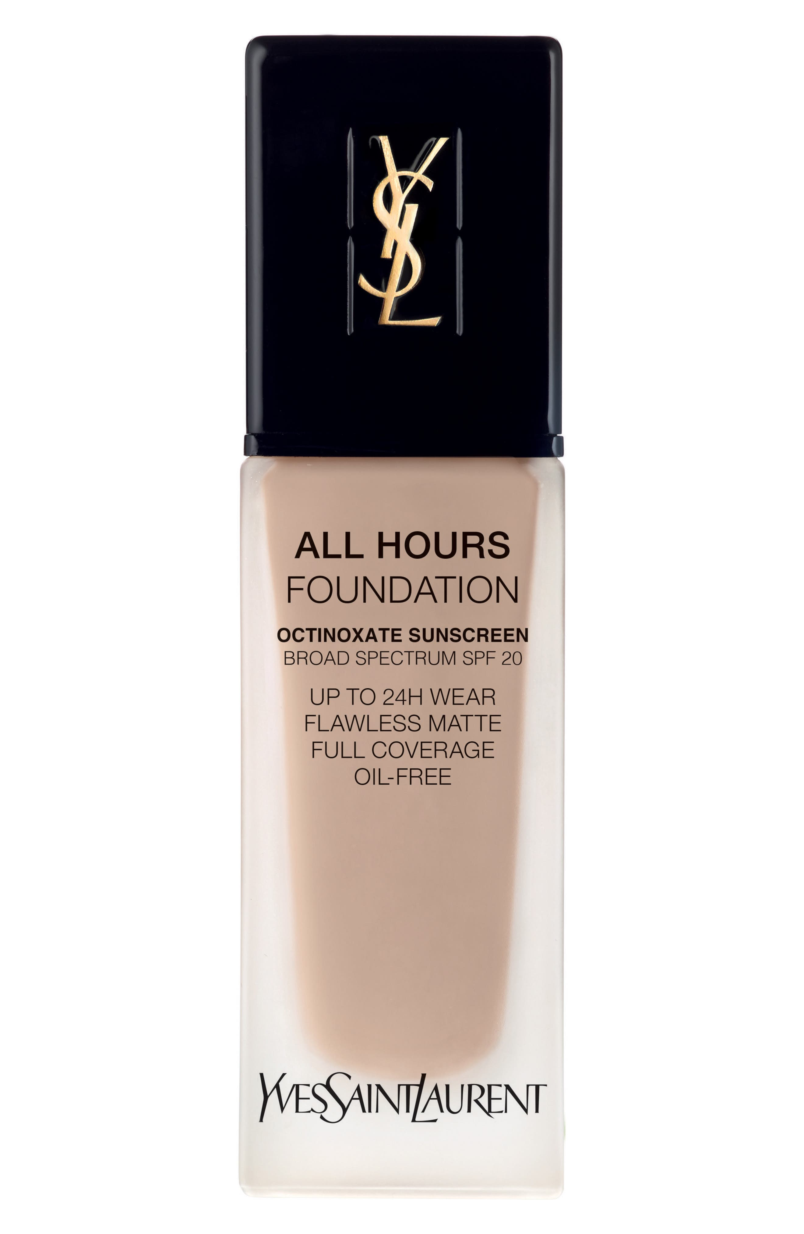 Yves Saint Laurent All Hours Full Coverage Matte Foundation Spf 20 - Br30 Cool Almond