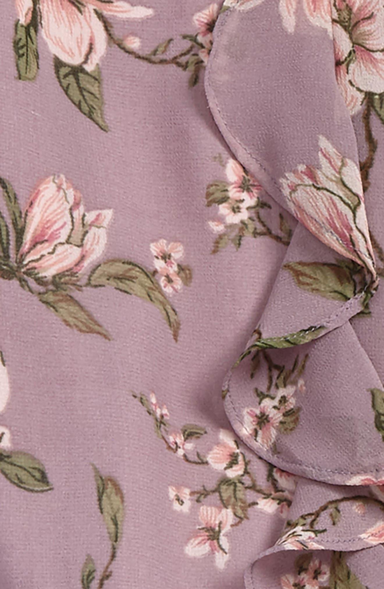 Magnolia Floral Romper,                             Alternate thumbnail 2, color,                             024