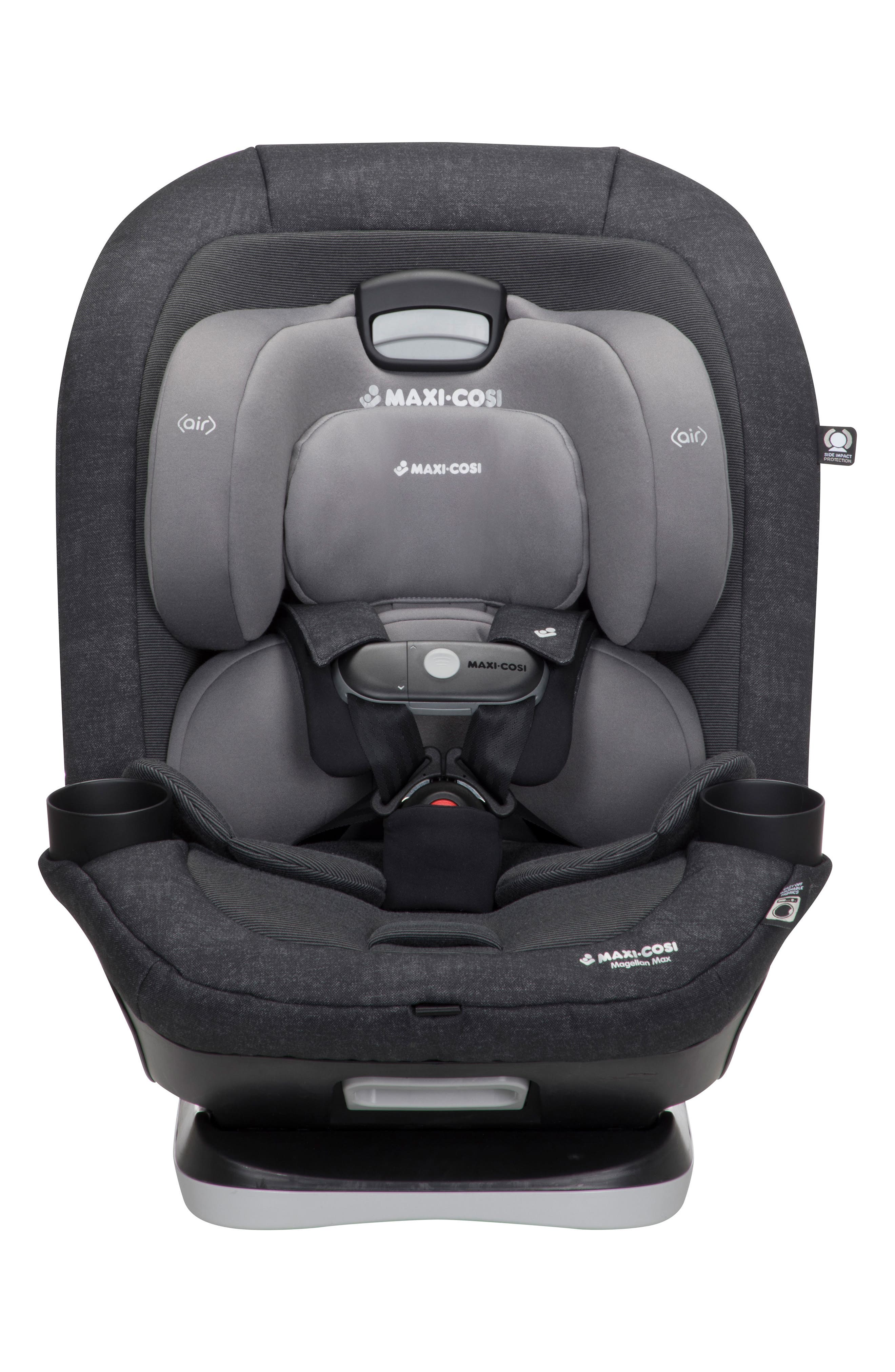 Magellan Max 2018 5-in-1 Convertible Car Seat,                             Main thumbnail 1, color,                             NOMAD BLACK