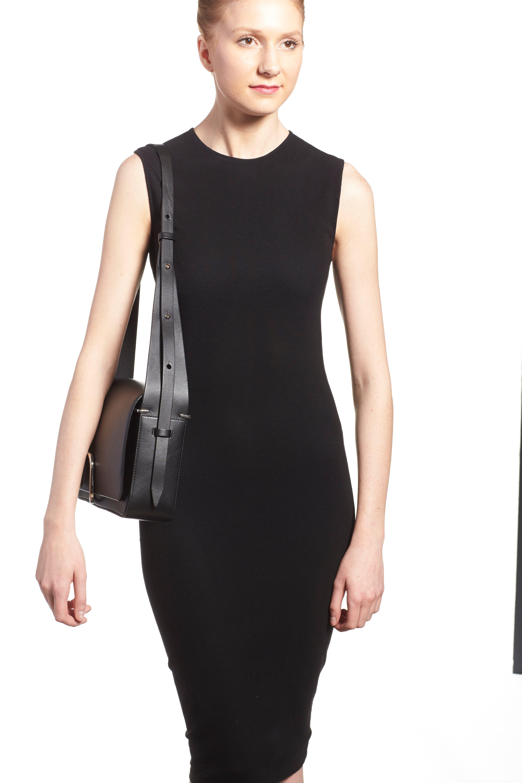 'Alix' Flap Shoulder Bag,                             Alternate thumbnail 5, color,