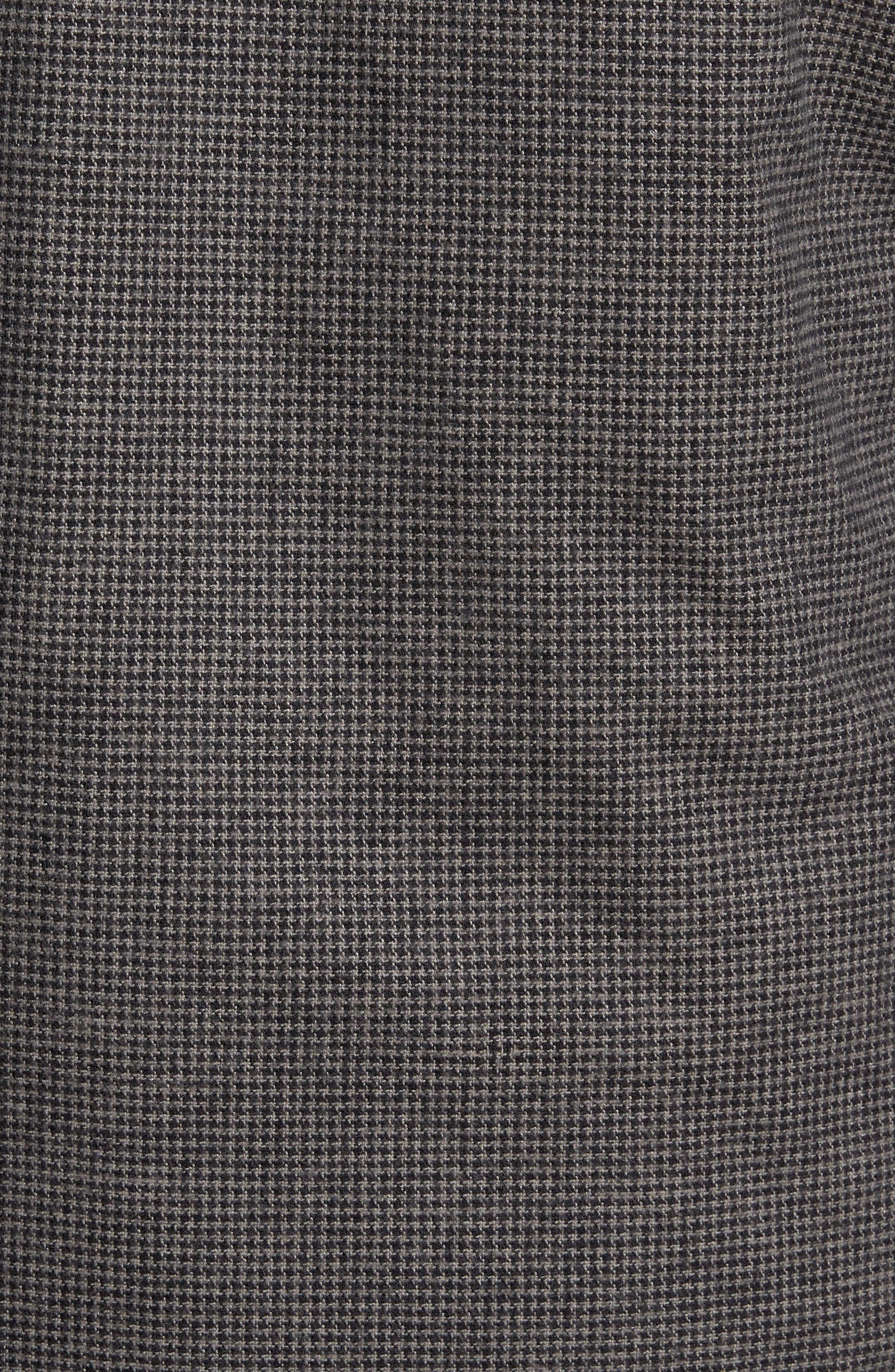Gunstock River Reversible Down Shirt Jacket,                             Alternate thumbnail 6, color,                             001