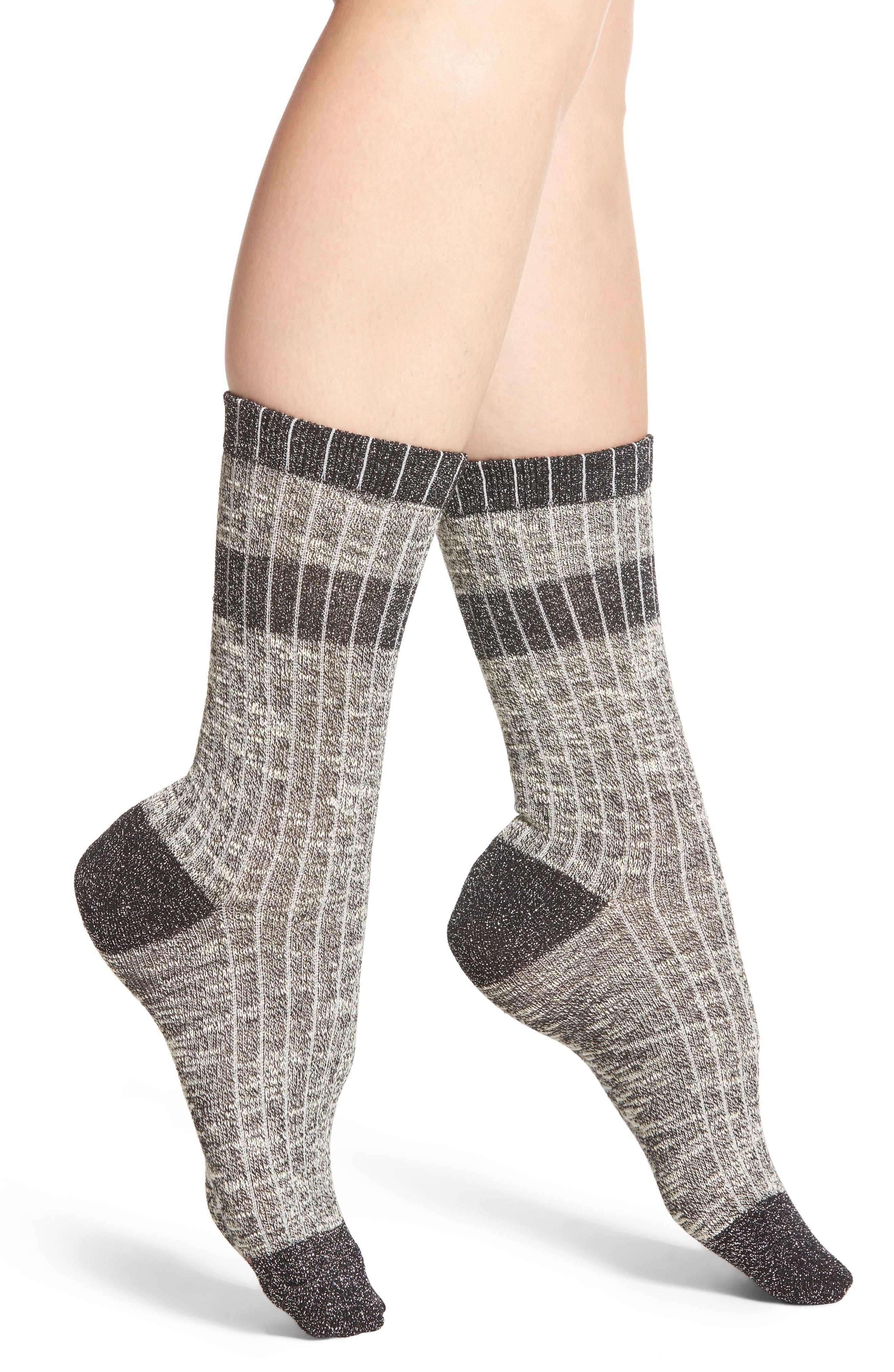 Varsity Stripe Crew Socks,                         Main,                         color, 001