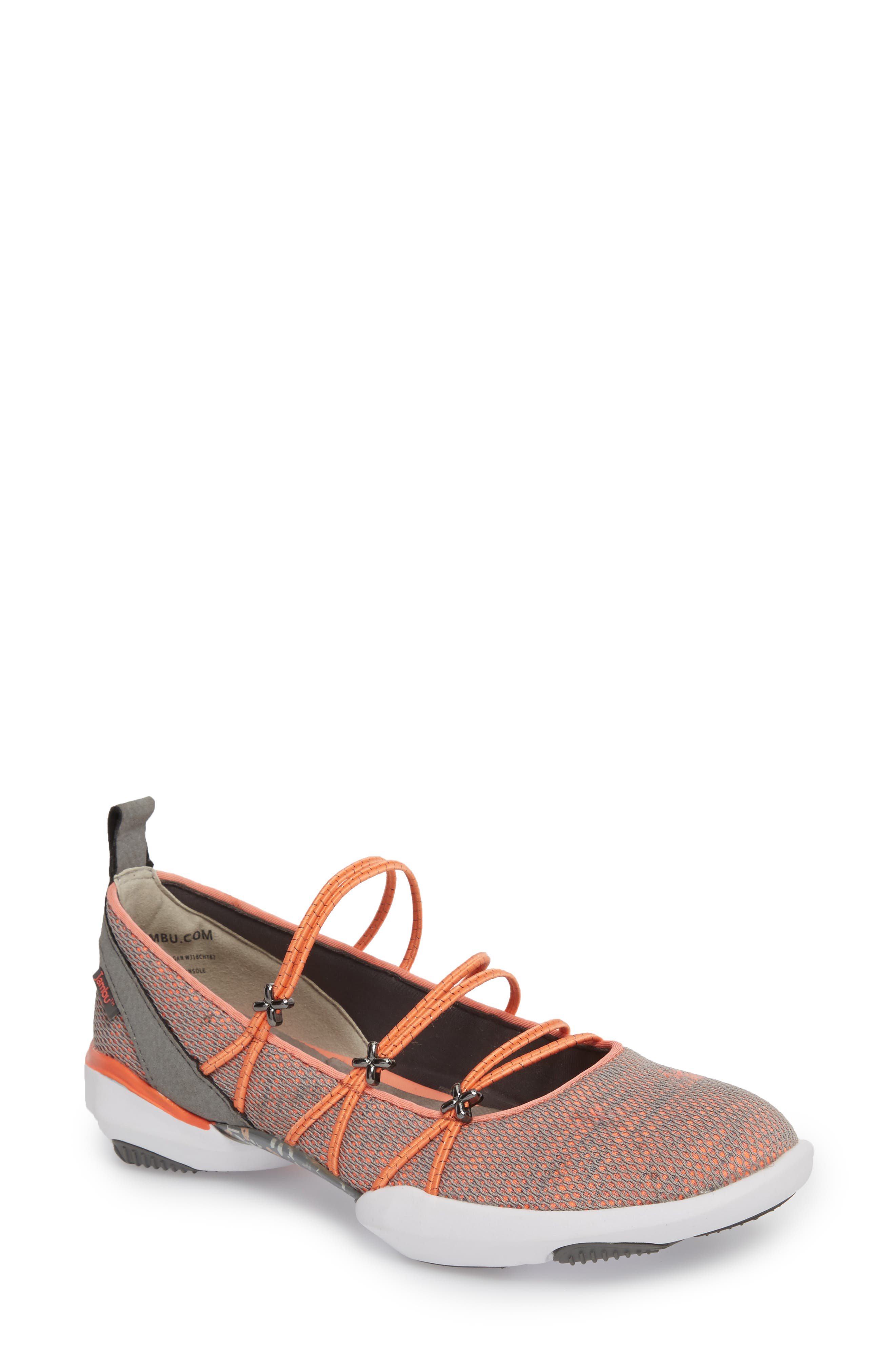 Cheyenne Water Ready Slip-on,                             Main thumbnail 1, color,                             ORANGE