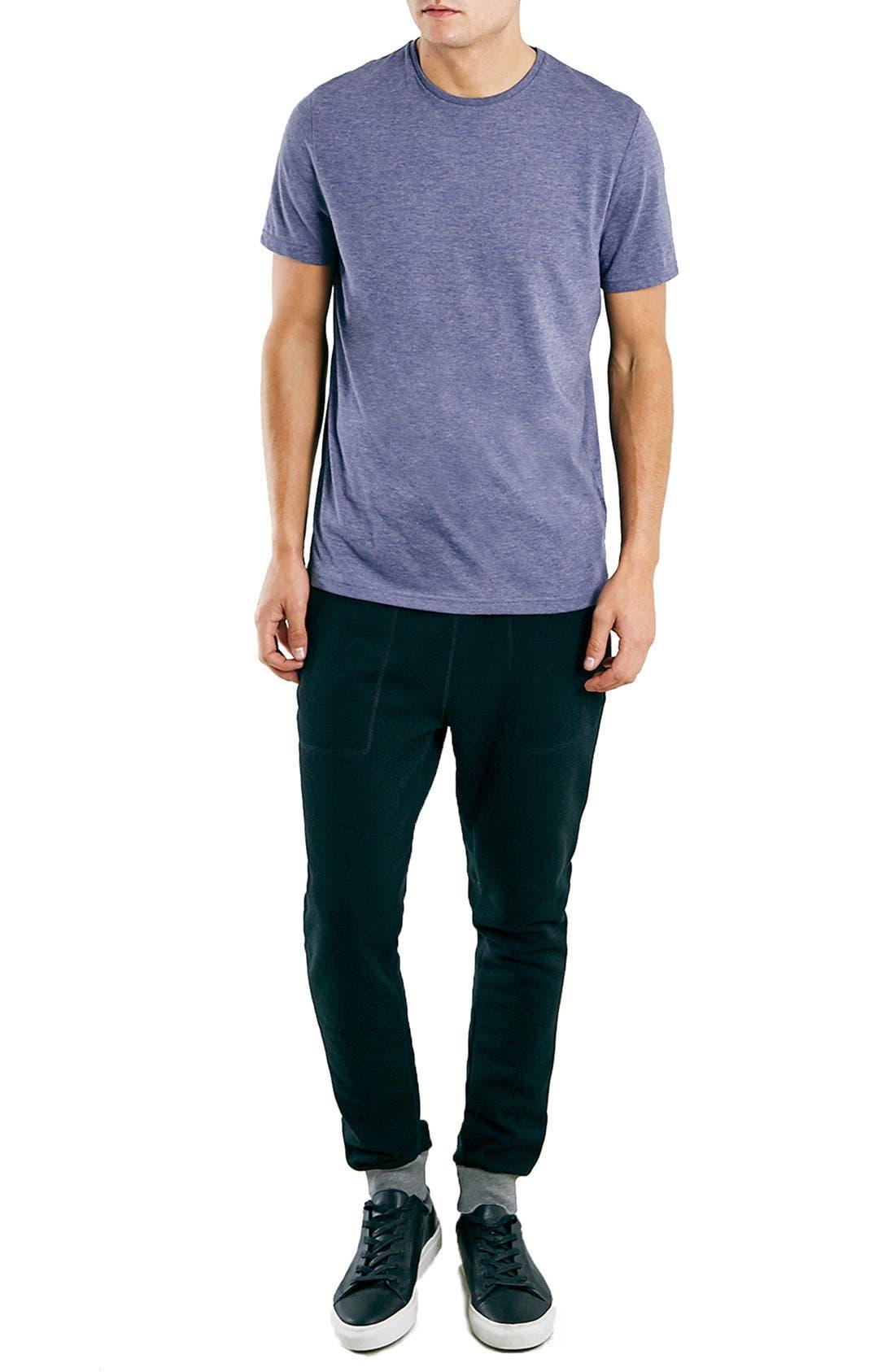 Slim Fit Crewneck T-Shirt,                             Alternate thumbnail 255, color,