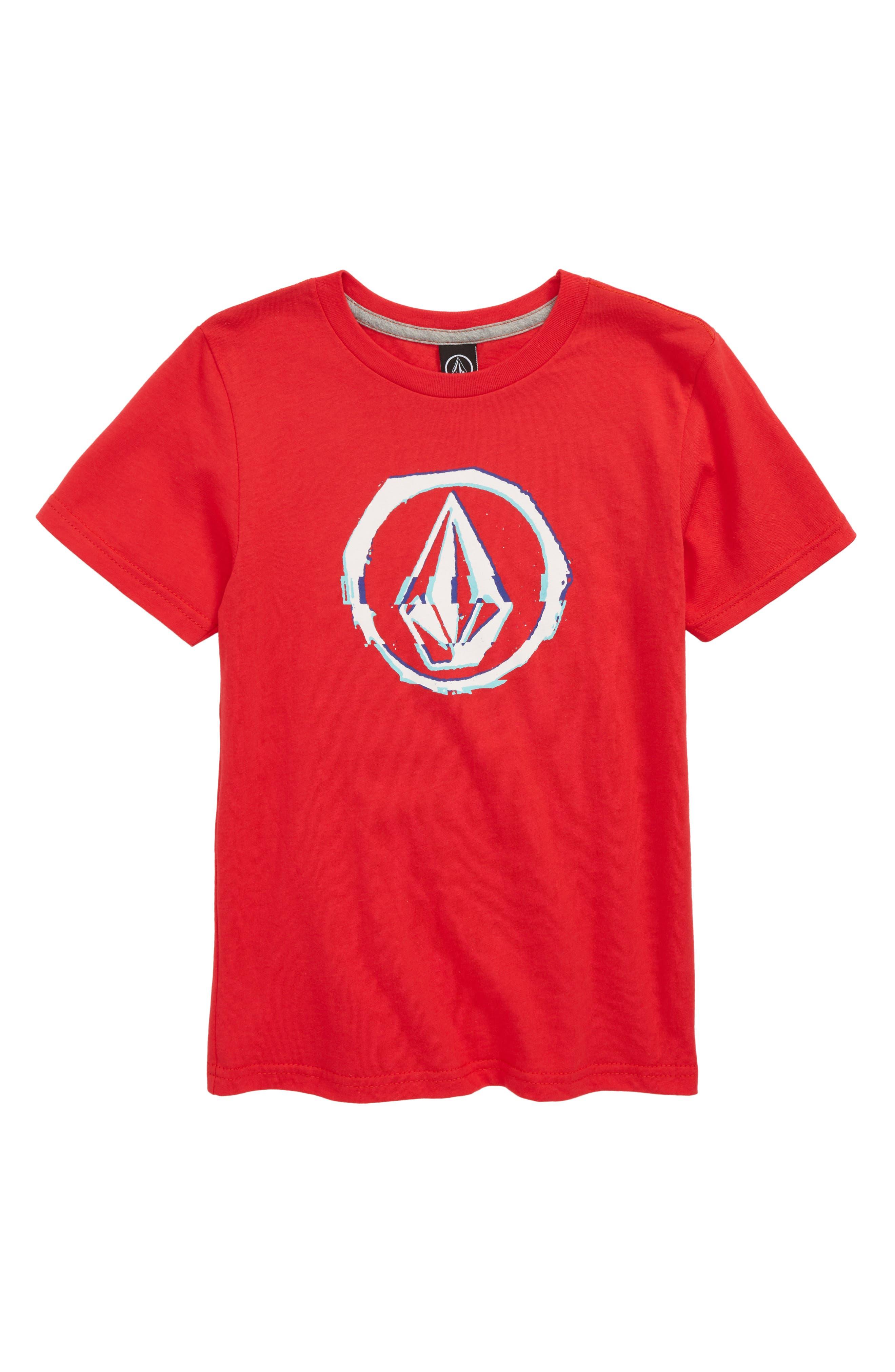 Glitchy Graphic T-Shirt,                             Main thumbnail 2, color,