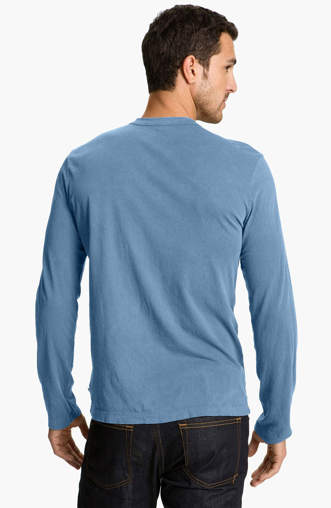 Long Sleeve Crewneck T-Shirt,                             Alternate thumbnail 53, color,
