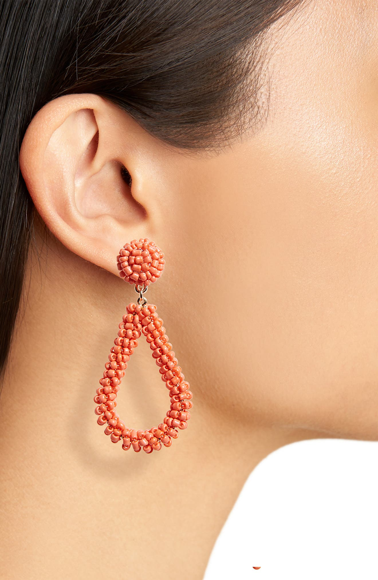 Bead Drop Earrings,                             Alternate thumbnail 12, color,