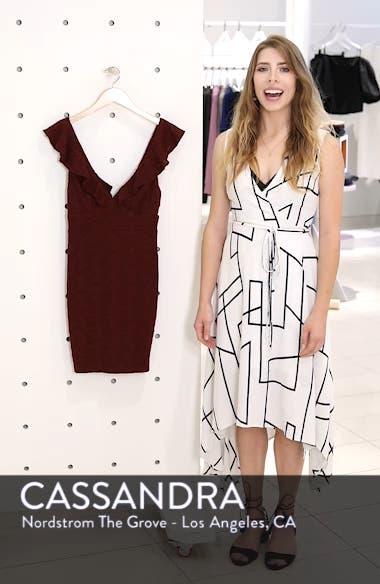 Ruffle Neck Lace Minidress, sales video thumbnail