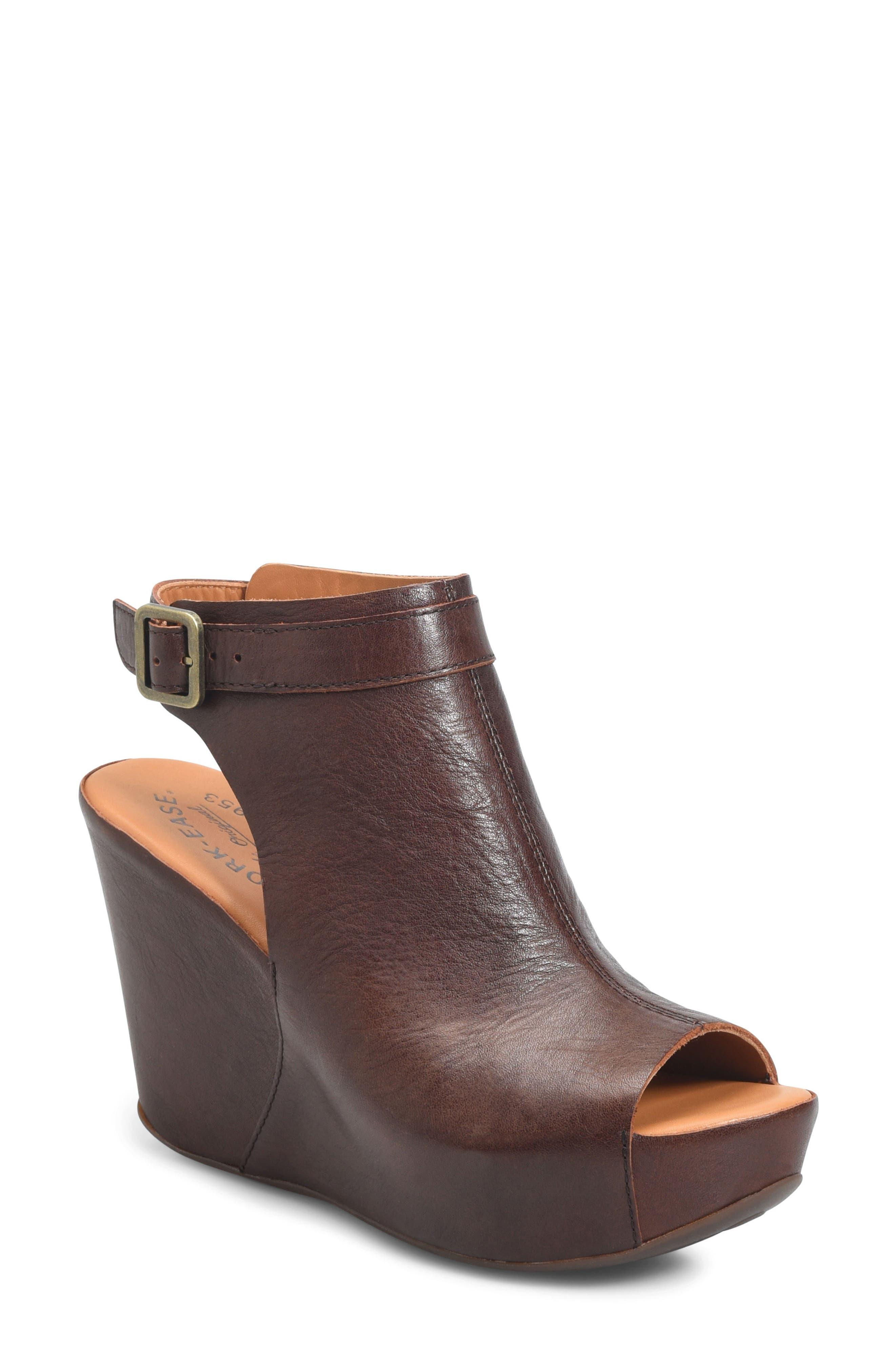 'Berit' Wedge Sandal,                             Main thumbnail 4, color,