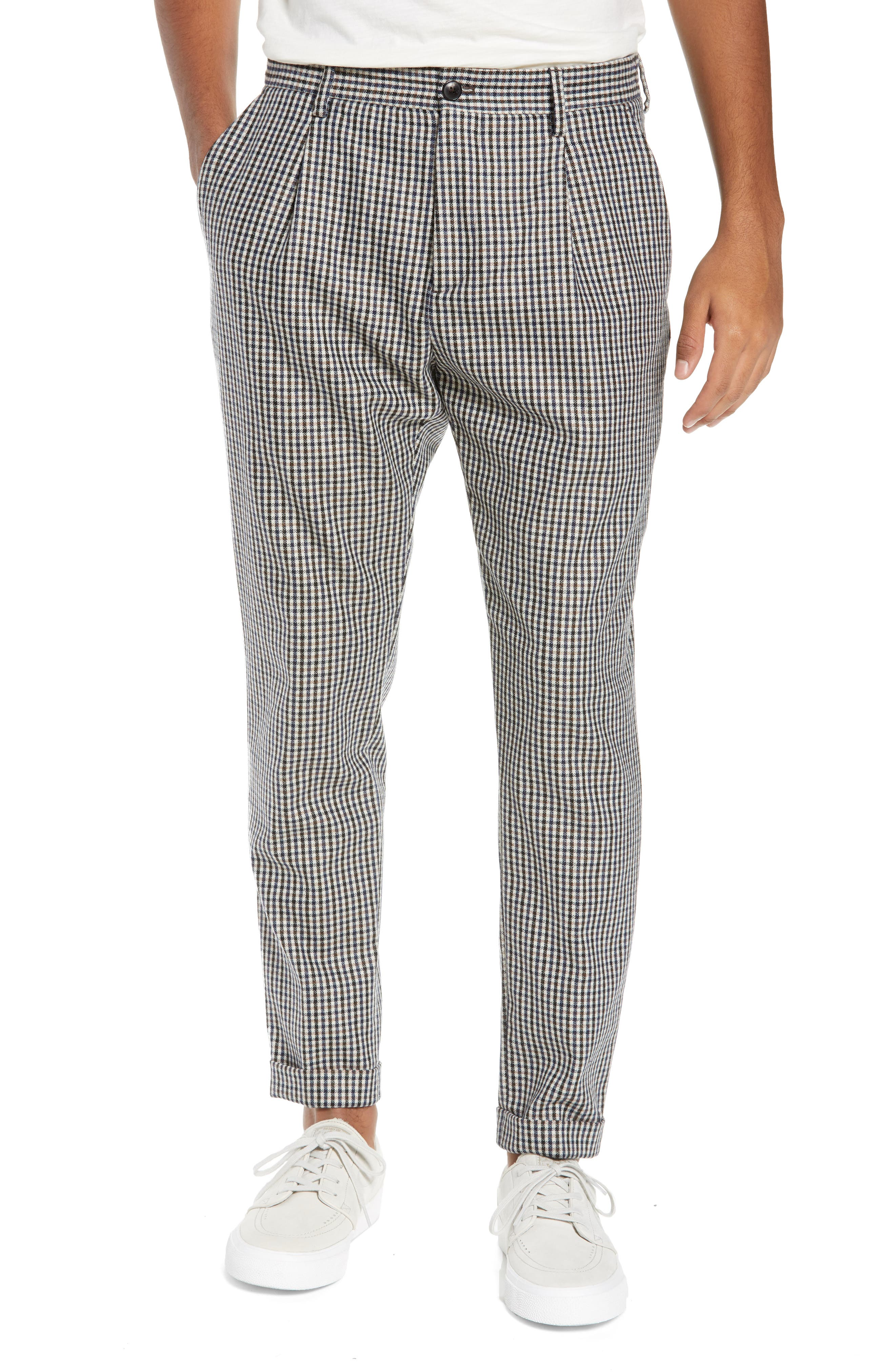 Blake Slim Fit Stripe Trousers,                         Main,                         color, COMBO A