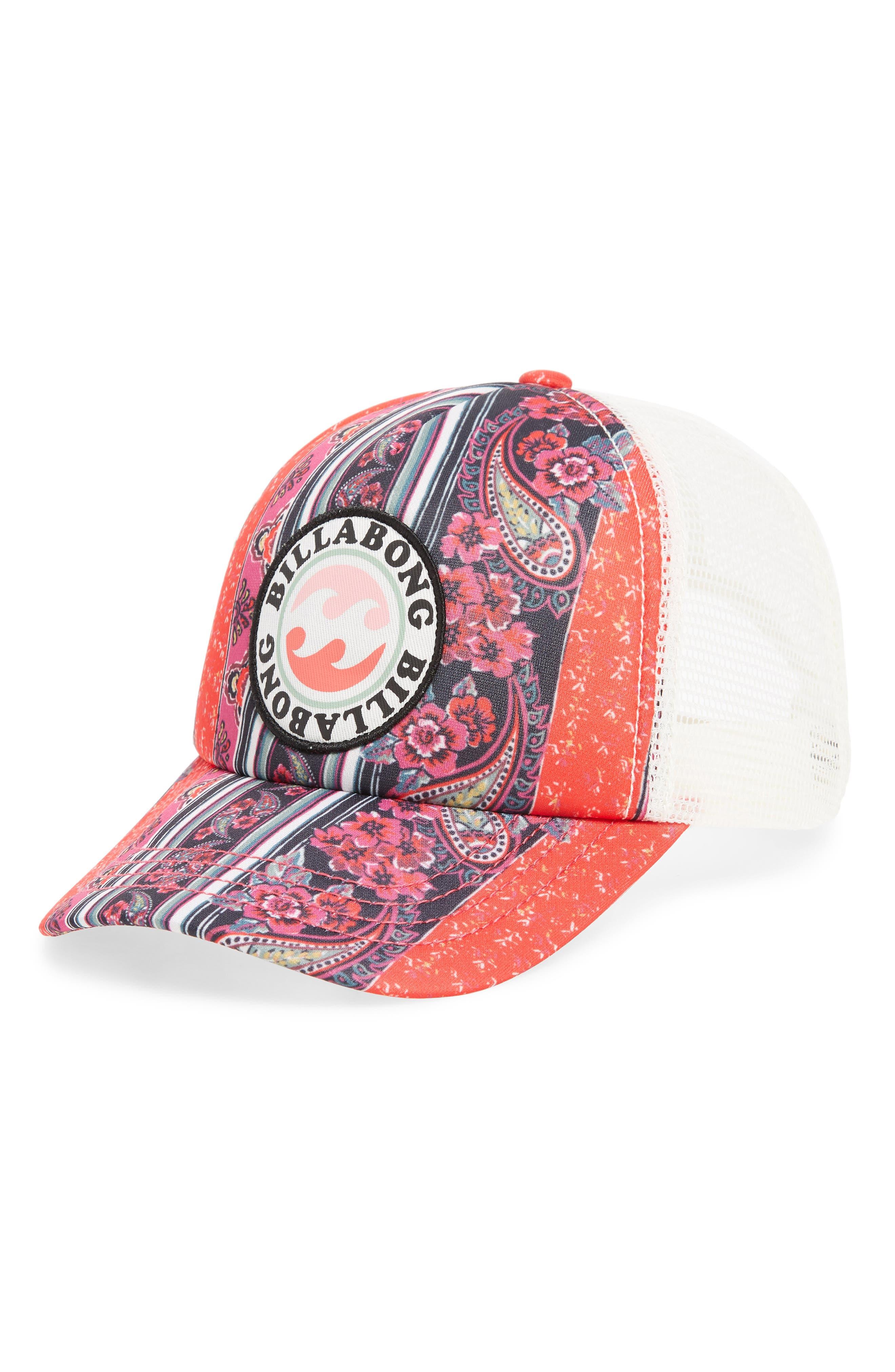 Shenanigans Snapback Cap,                         Main,                         color, REBEL PINK