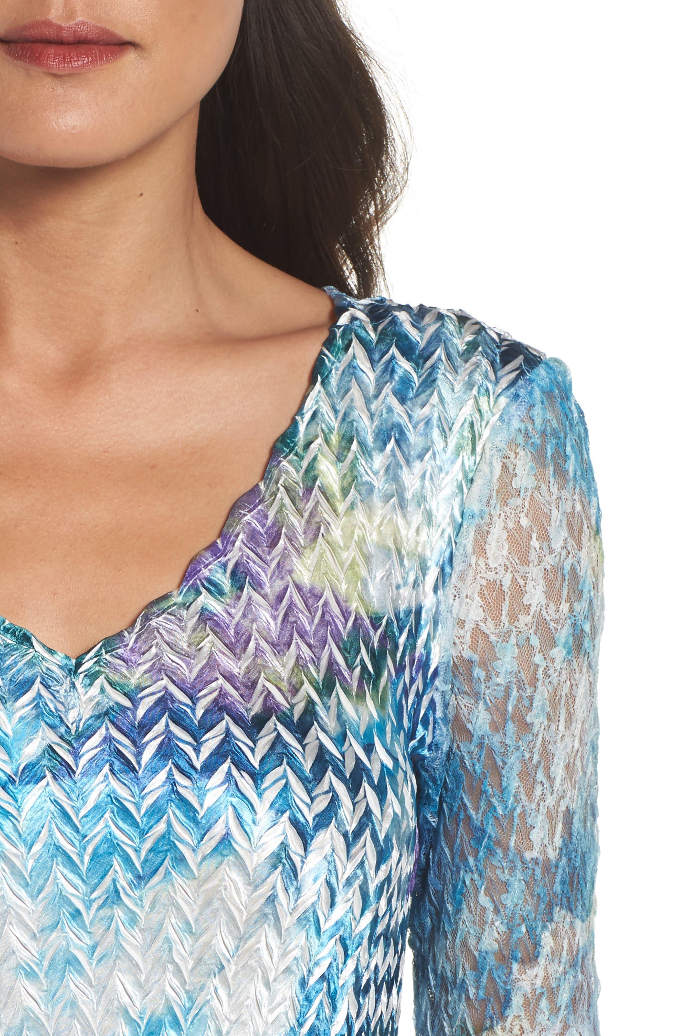 A-Line Dress,                             Alternate thumbnail 4, color,                             408